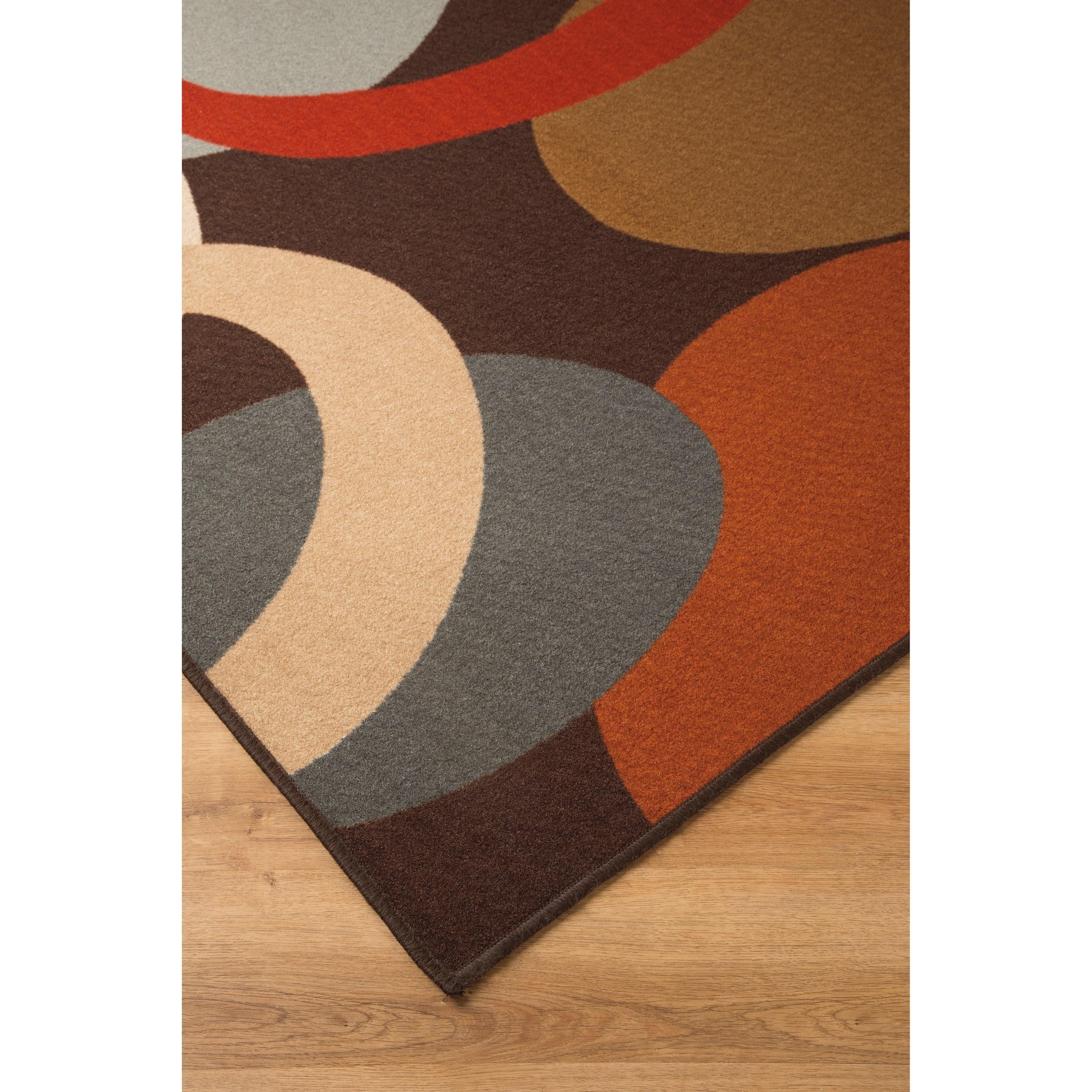 Signature Design By Ashley Contemporary Area Rugs R335002 Acciai Brown Blue Medium Rug Becker