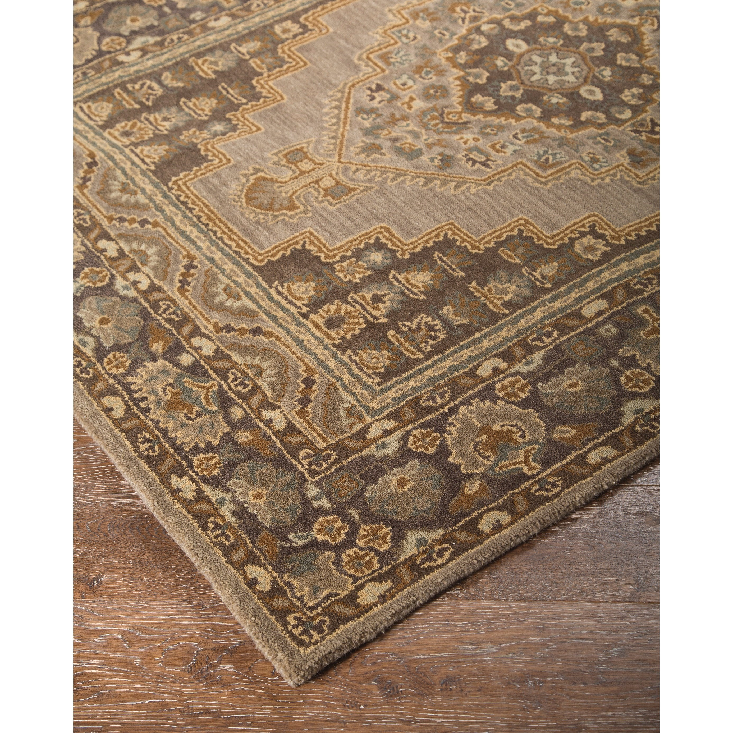 Signature Design By Ashley Traditional Classics Area Rugs Sangerville Tan Large Rug Olinde 39 S