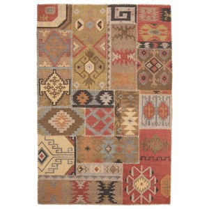 Signature Design By Ashley Traditional Classics Area Rugs R400011 Dallan Gray Large Rug