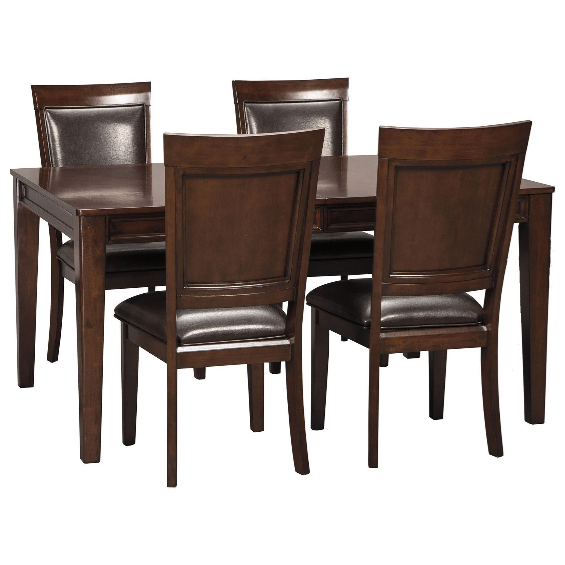 ashley signature design shadyn rectangular dining room