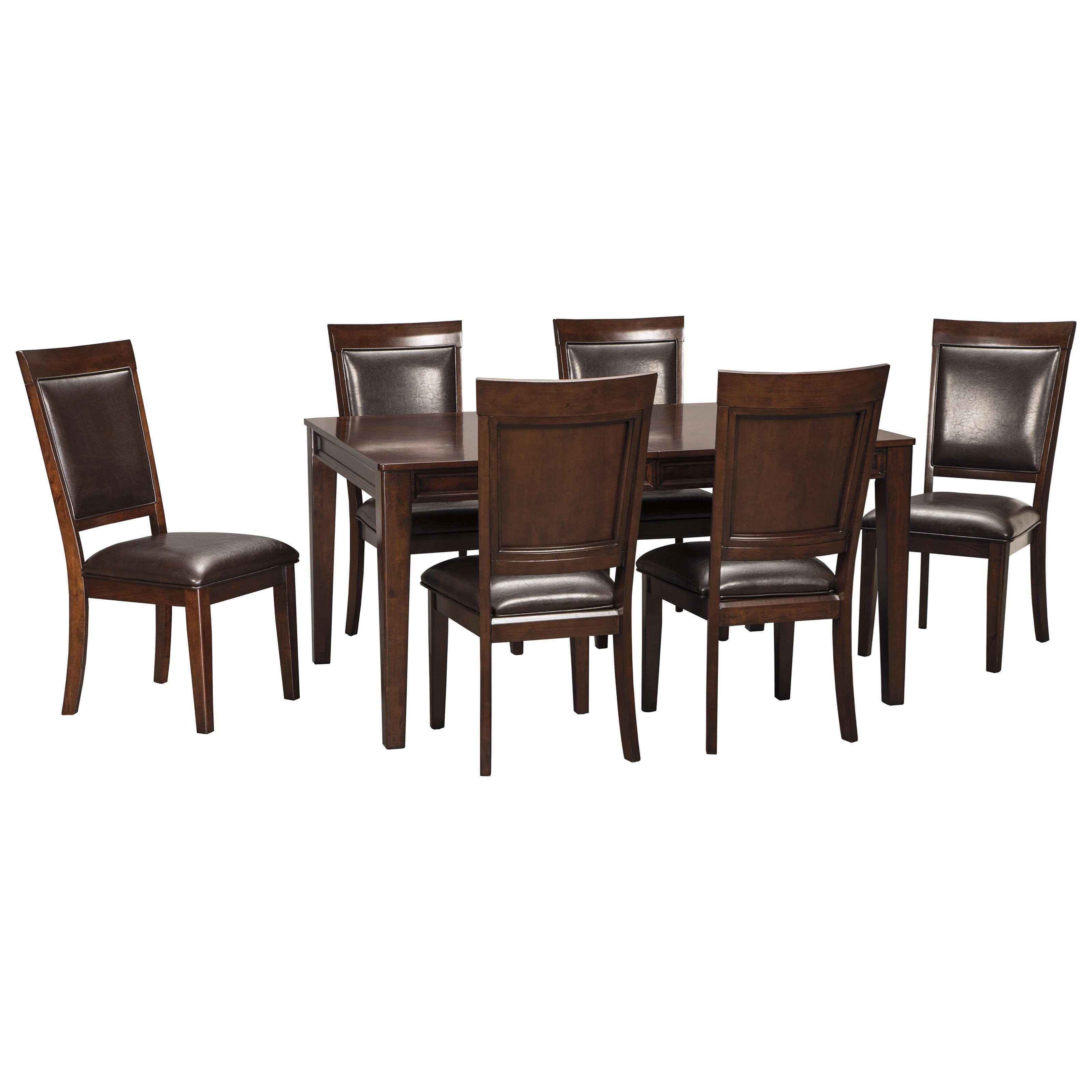 Ashley signature design shadyn rectangular dining room for Signature furniture