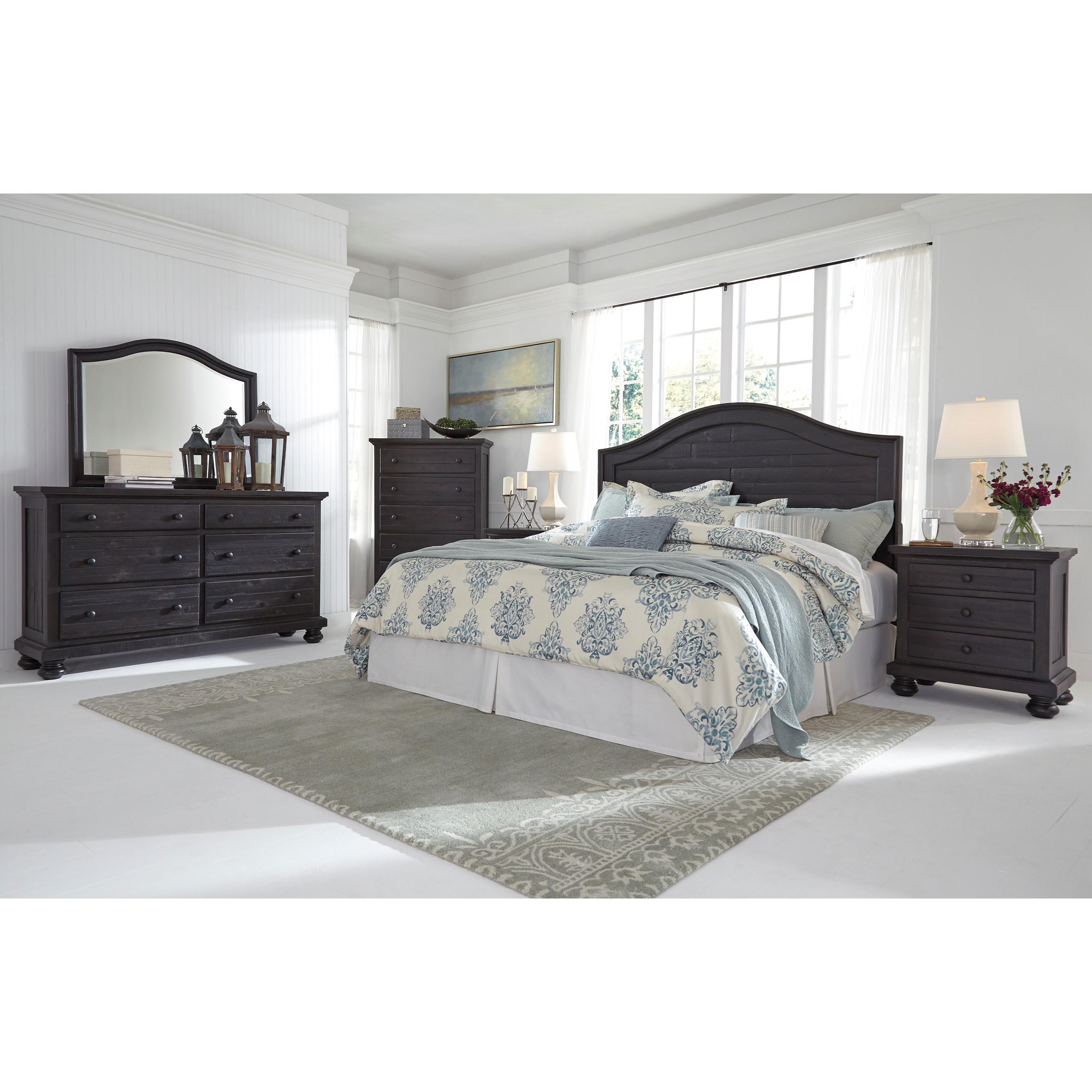 Signature Design by Ashley Sharlowe King California King Bedroom Group Hous