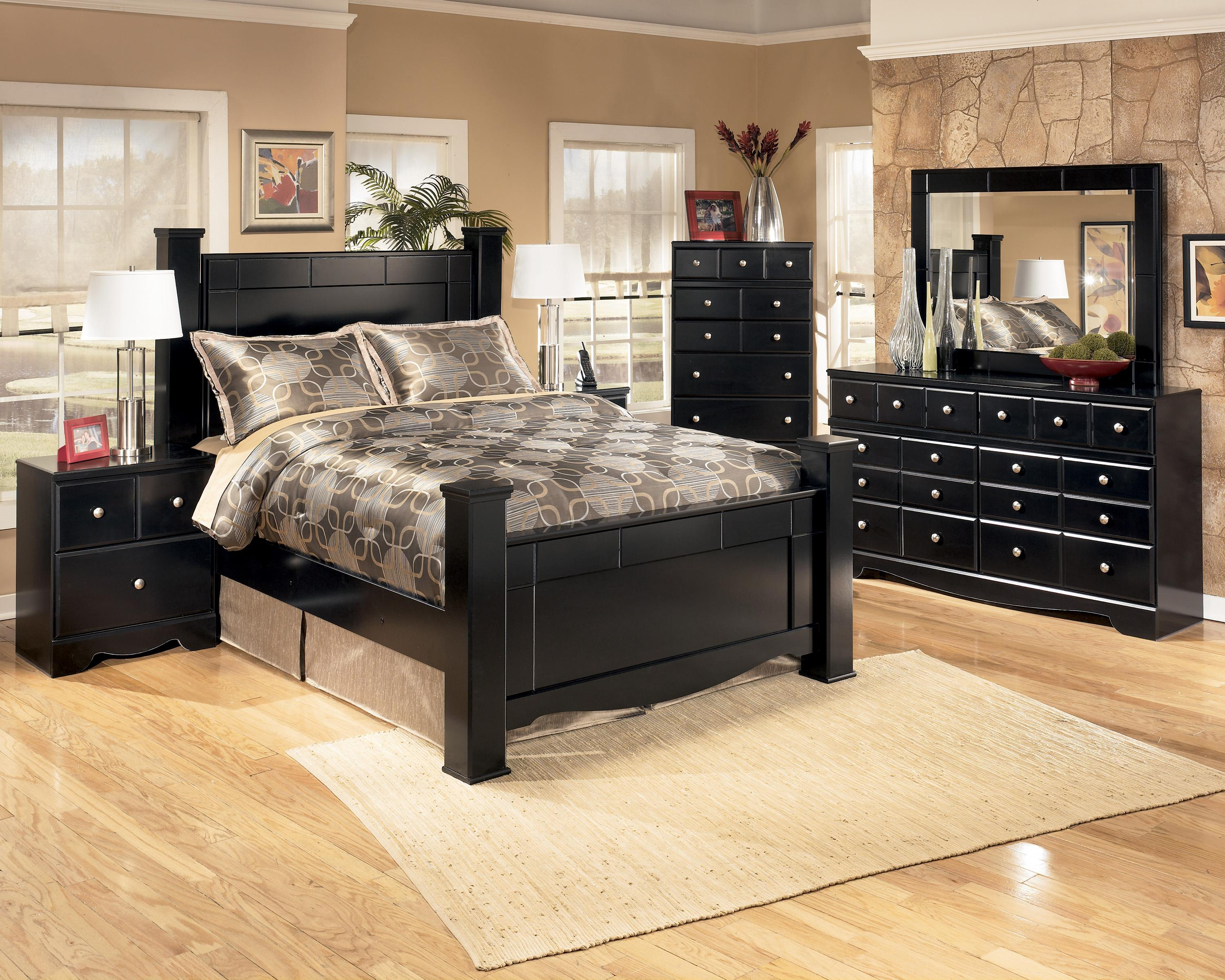 Signature Design By Ashley Shay 5 Piece Queen Bedroom Group Wayside Furniture Bedroom Groups