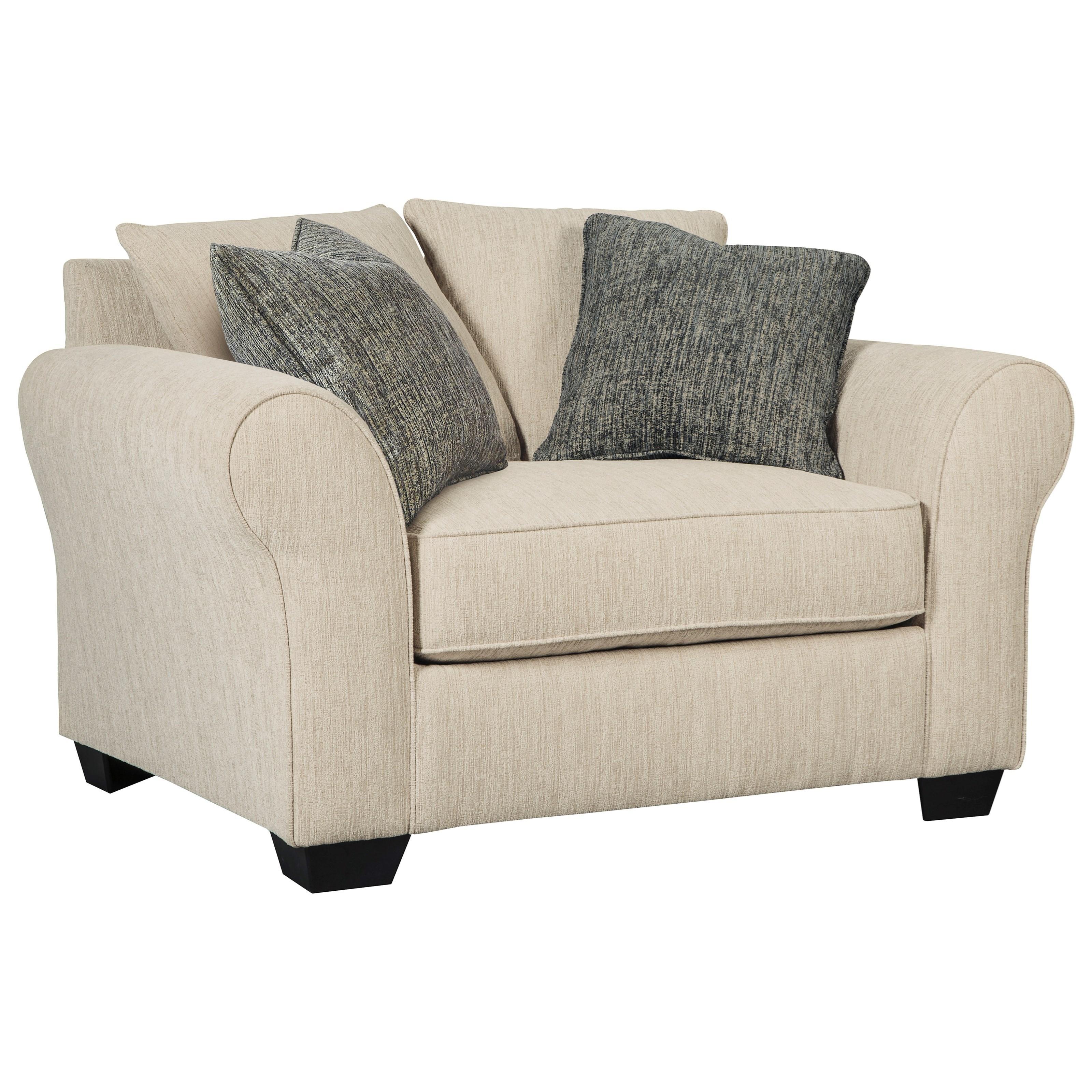 Silsbee Chair and a Half & Ottoman Becker Furniture
