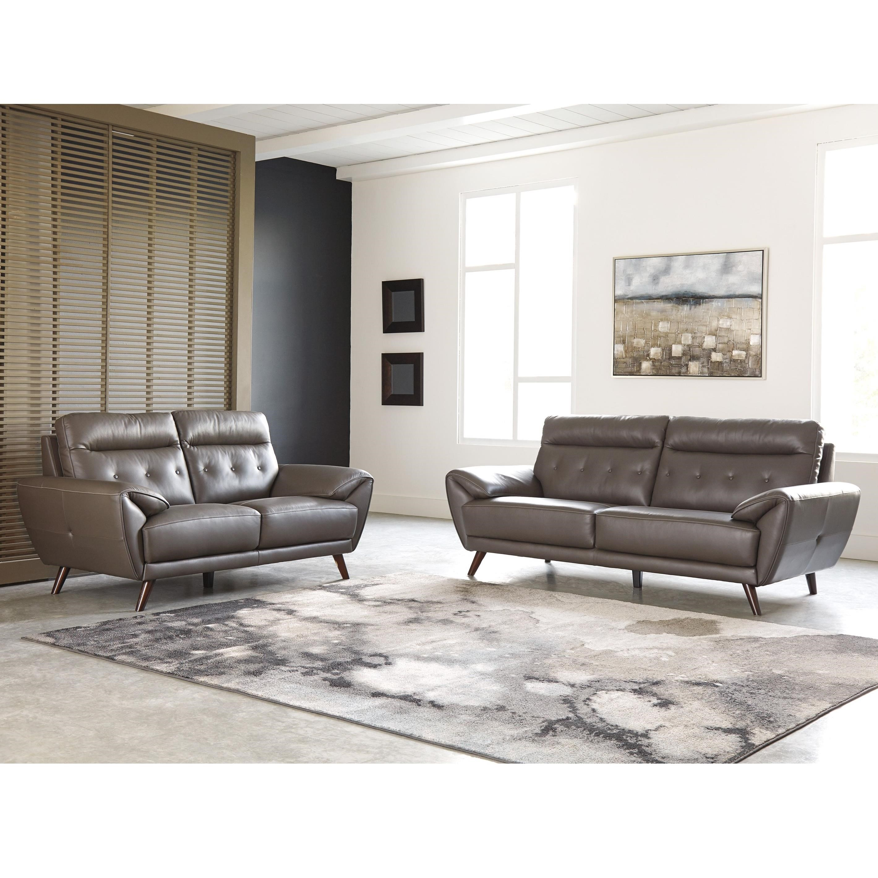 Signature Design By Ashley Sissoko Living Room Group Rotmans Stationary Living Room Groups
