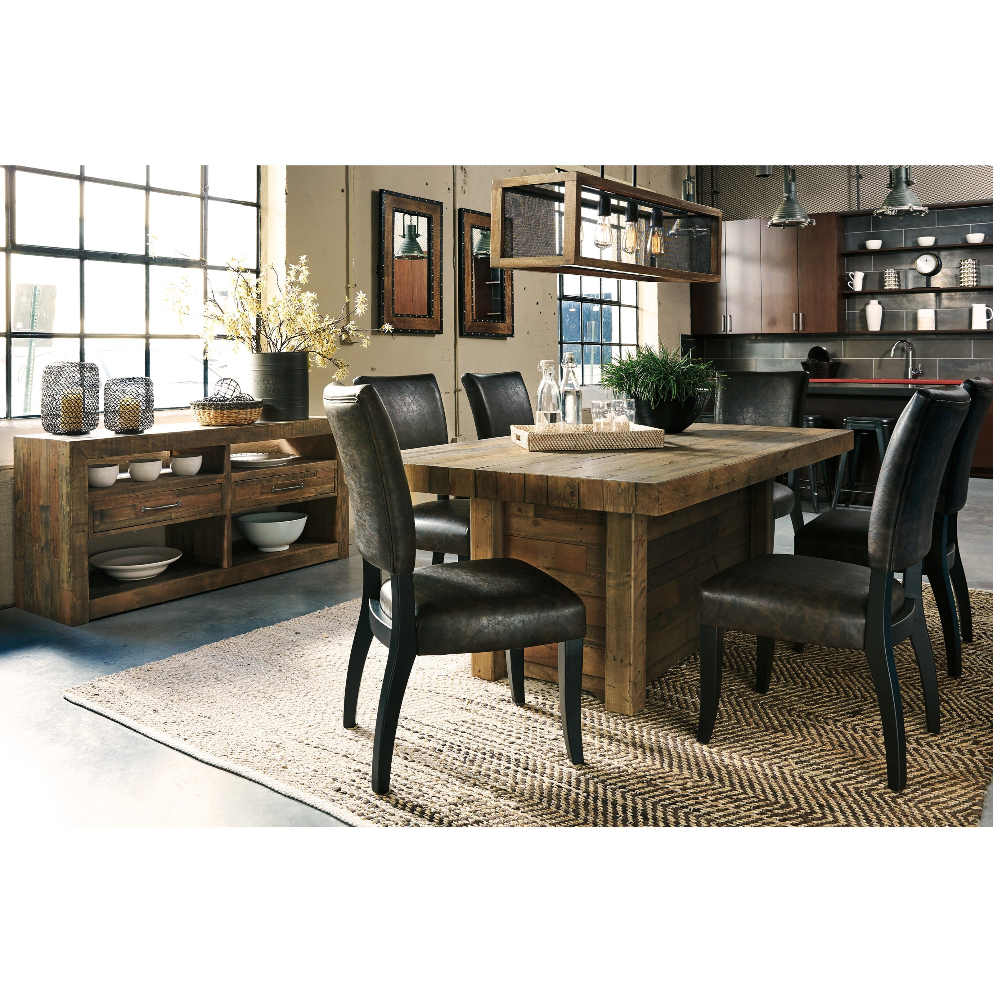 Signature design by ashley sommerford casual dining room for Casual dining room