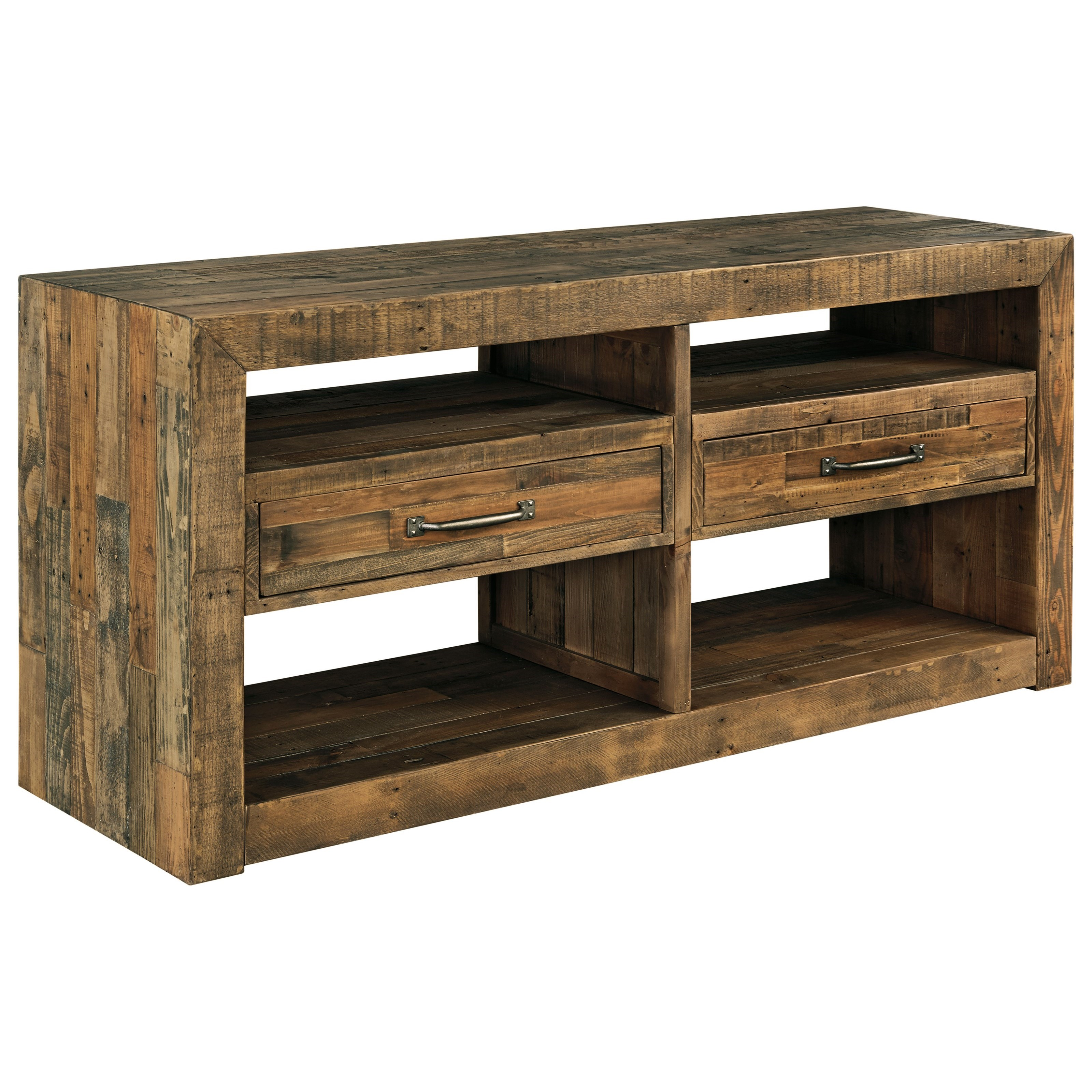 Signature Design By Ashley Sommerford Solid Wood Reclaimed