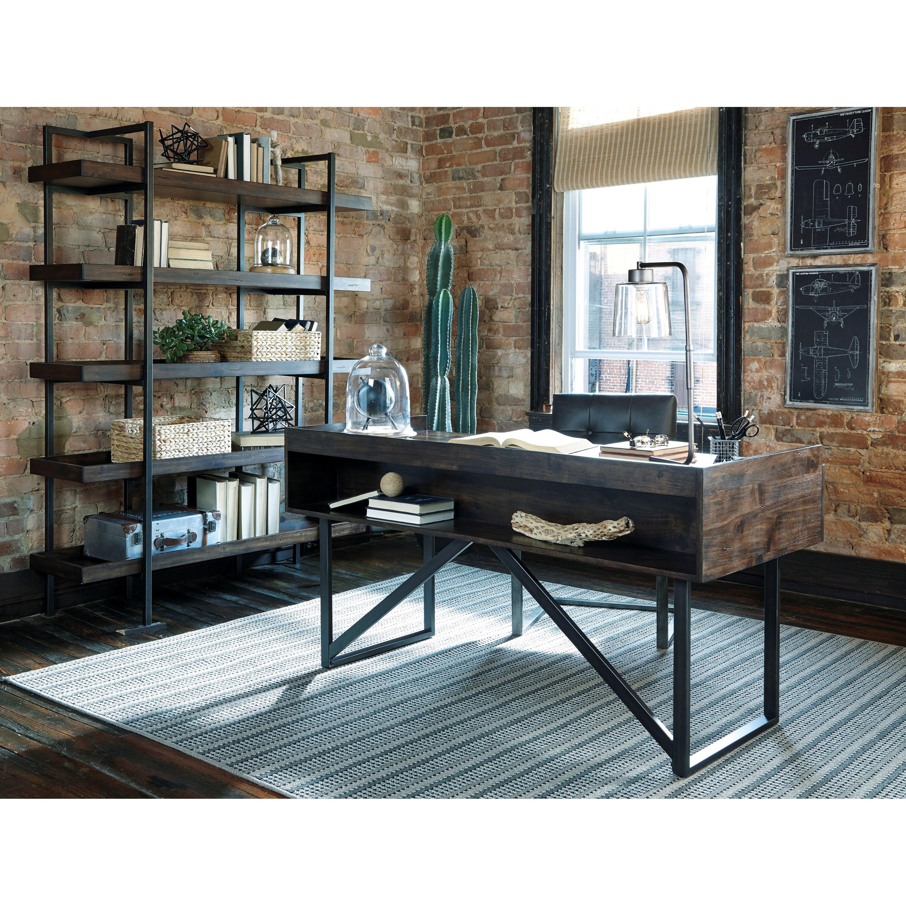 Ashley Signature Design Starmore H633 70 Modern Rustic
