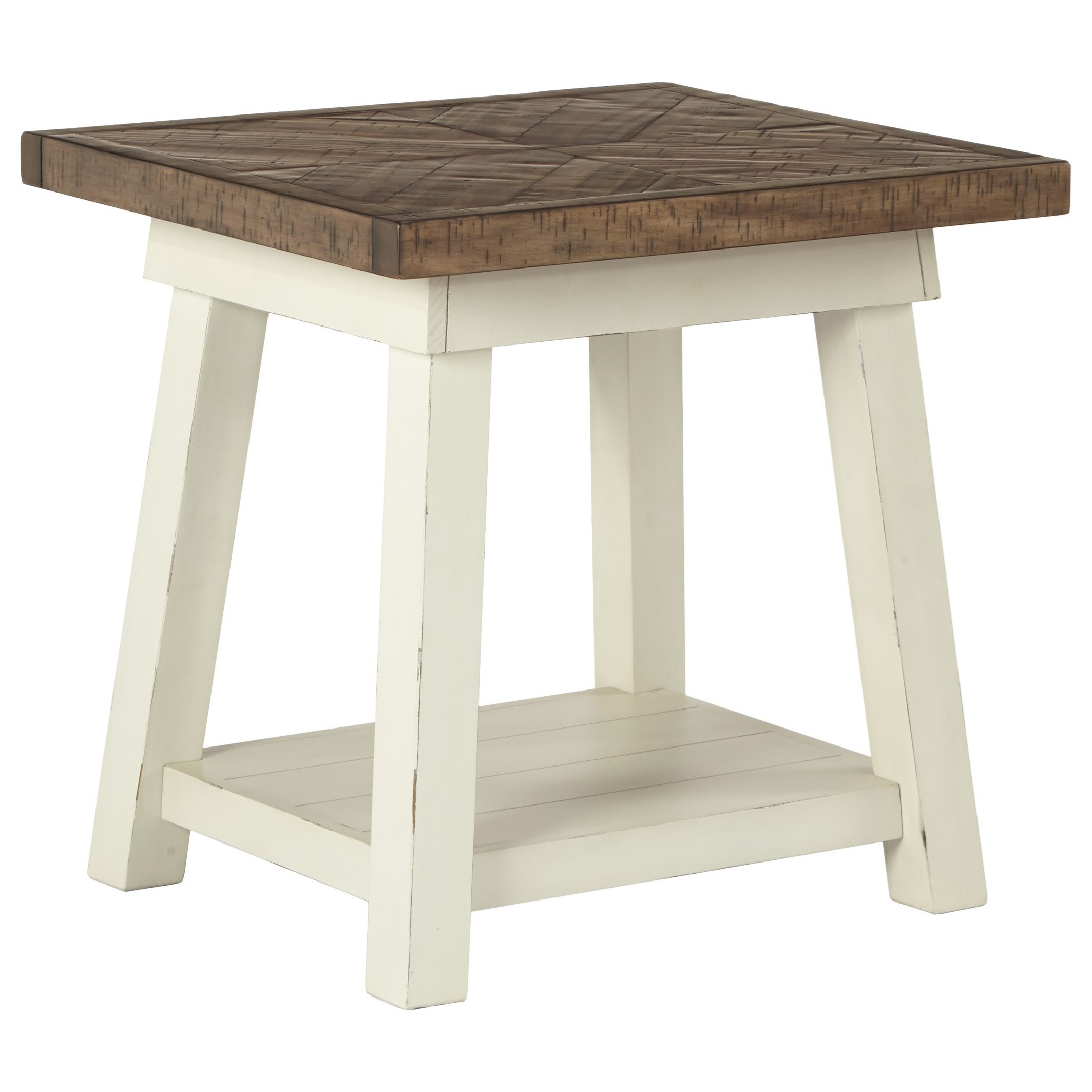 Ashley signature design stownbranner t640 3 two tone for Bright colored side tables