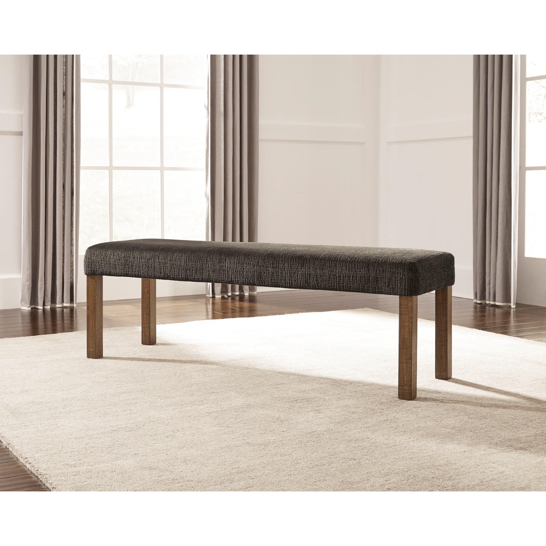 ashley signature design tamilo d714 00 large upholstered dining room bench dunk bright. Black Bedroom Furniture Sets. Home Design Ideas