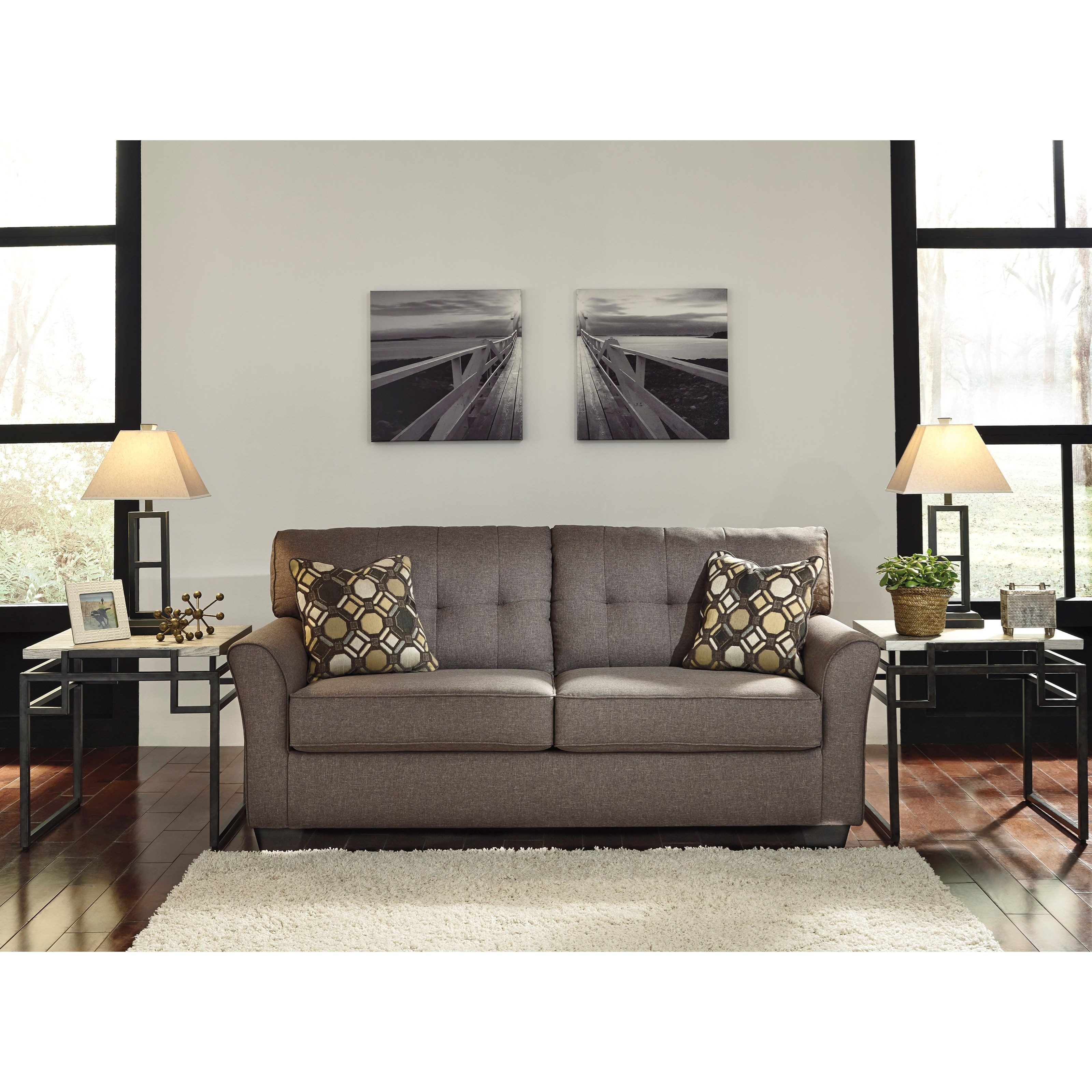 Signature design by ashley tibbee 9910136 contemporary for Signature design by ashley sofa
