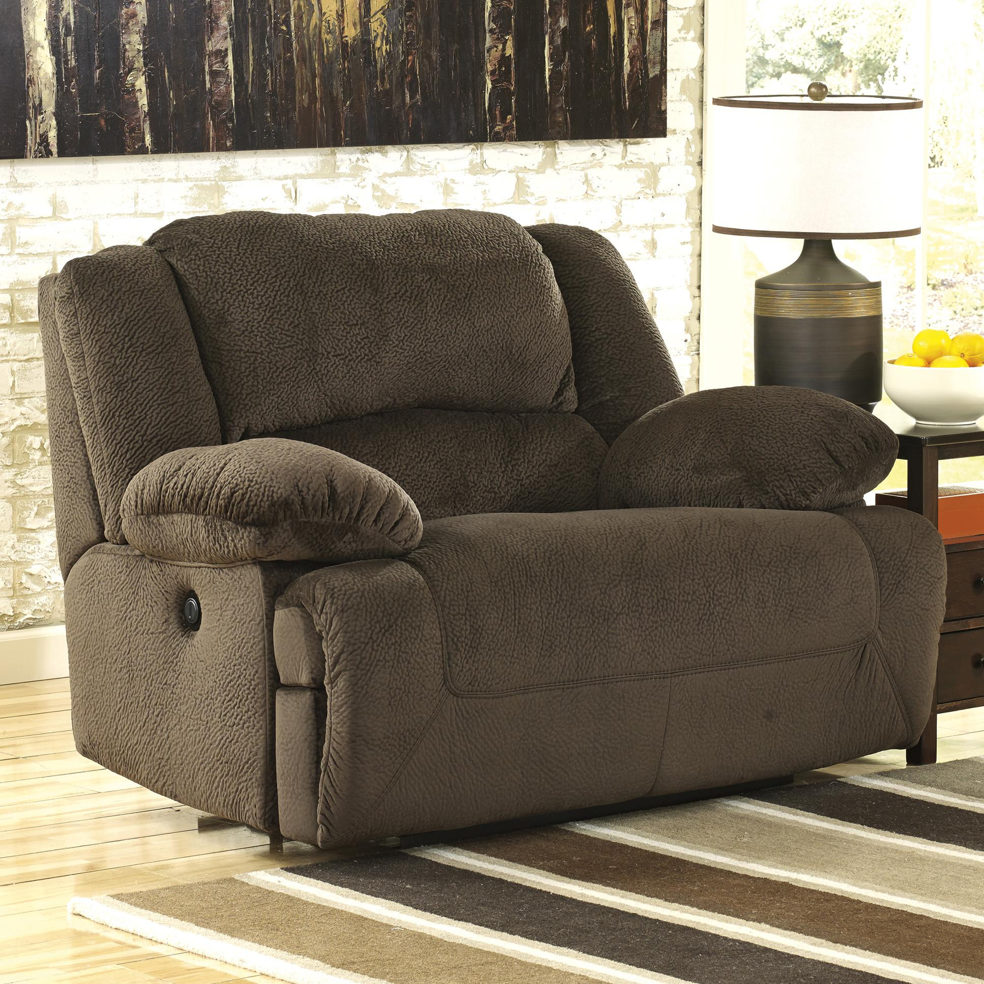 Signature design by ashley toletta chocolate 5670182 for Oversized reading chair for sale