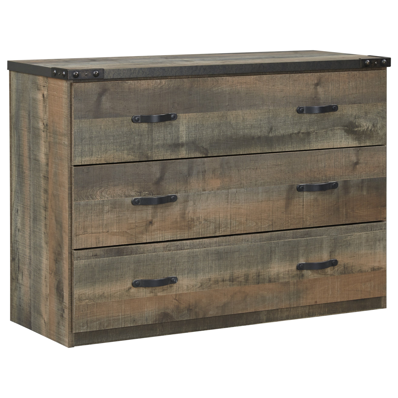 Signature Design By Ashley Trinell B446 19 Loft Drawer Storage Household Furniture Dressers