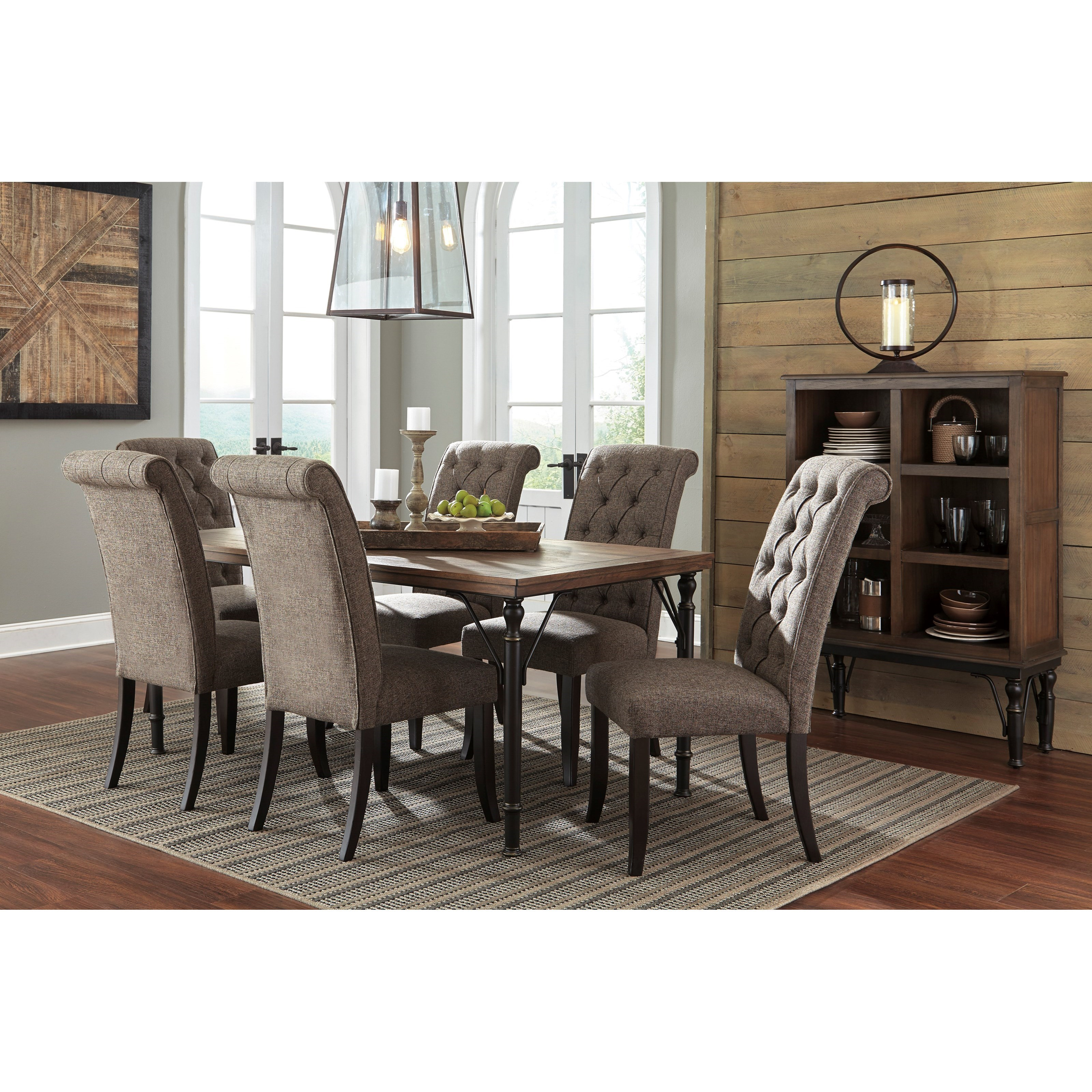 Signature design by ashley tripton casual dining room for Furniture group