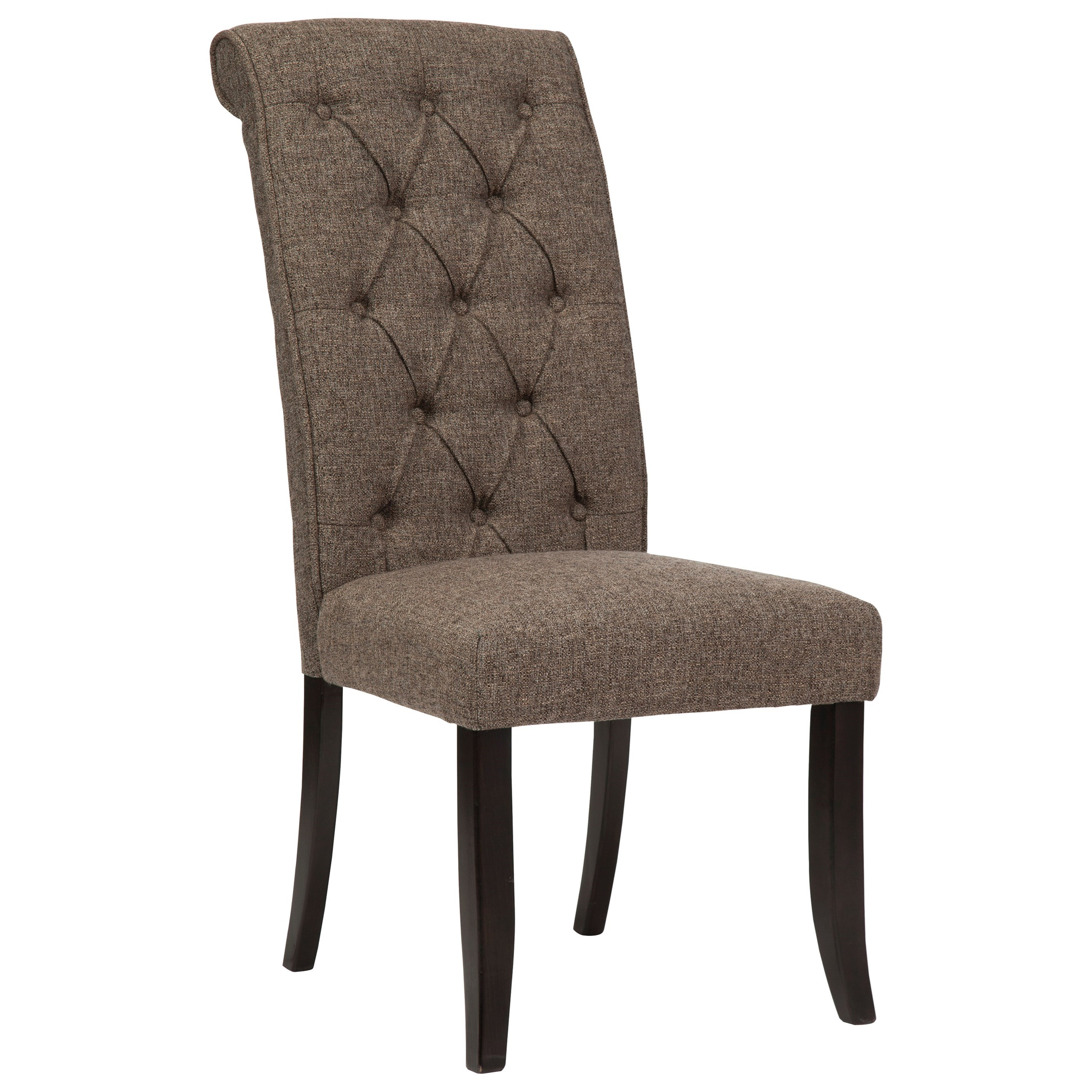 Signature design by ashley tripton d530 02 dining for Upholstered dining room side chairs