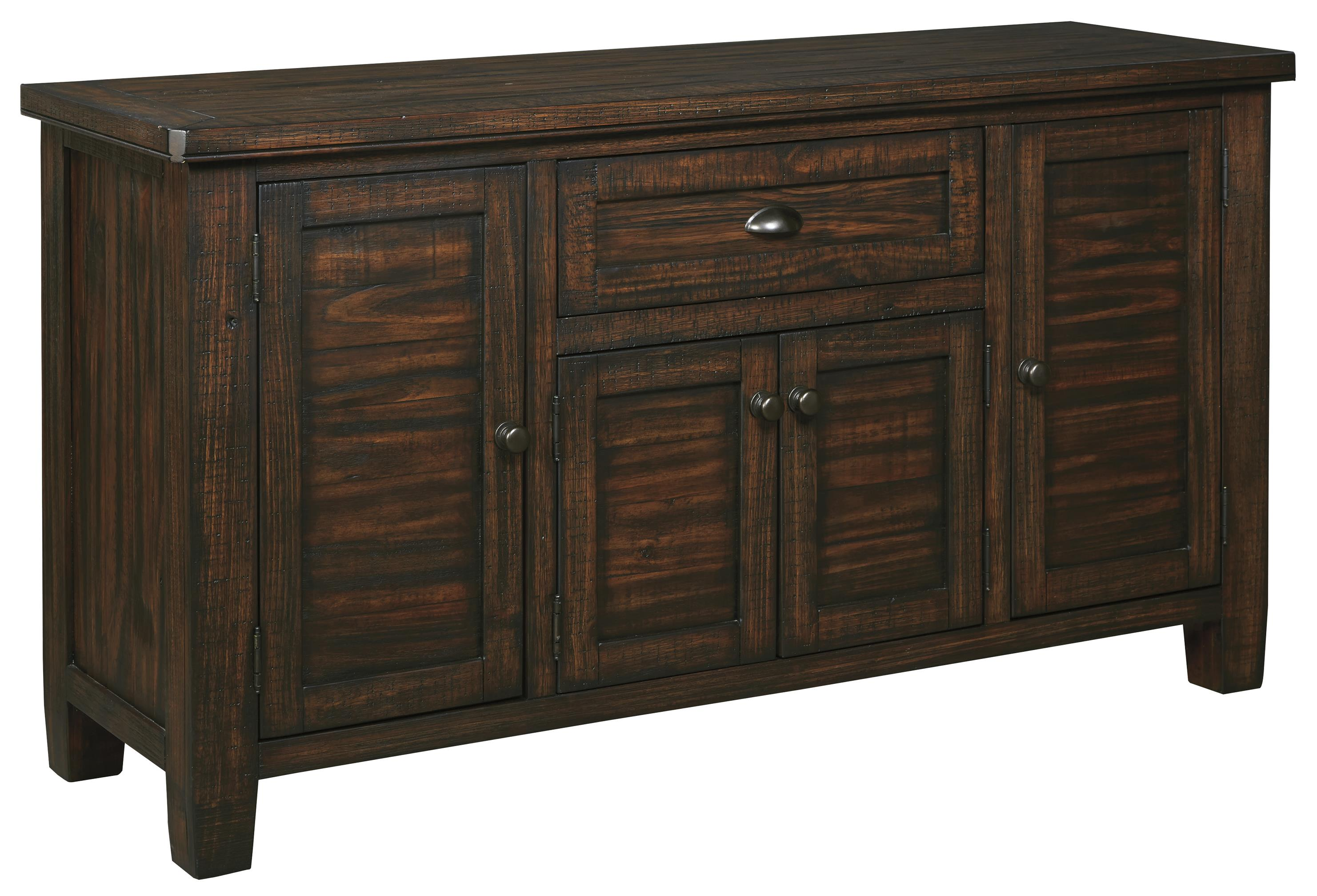 Signature Design by Ashley Trudell Solid Wood Pine Dining ...