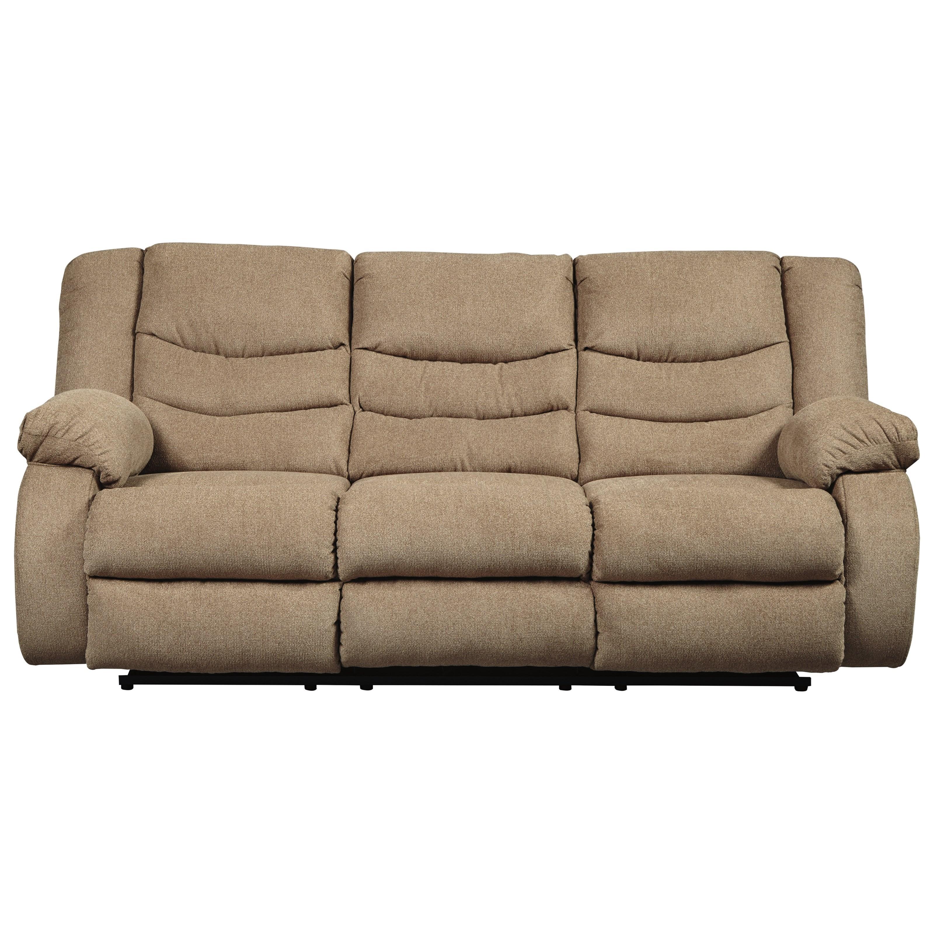 Signature design by ashley tulen 9860488 contemporary for Contemporary reclining sofas
