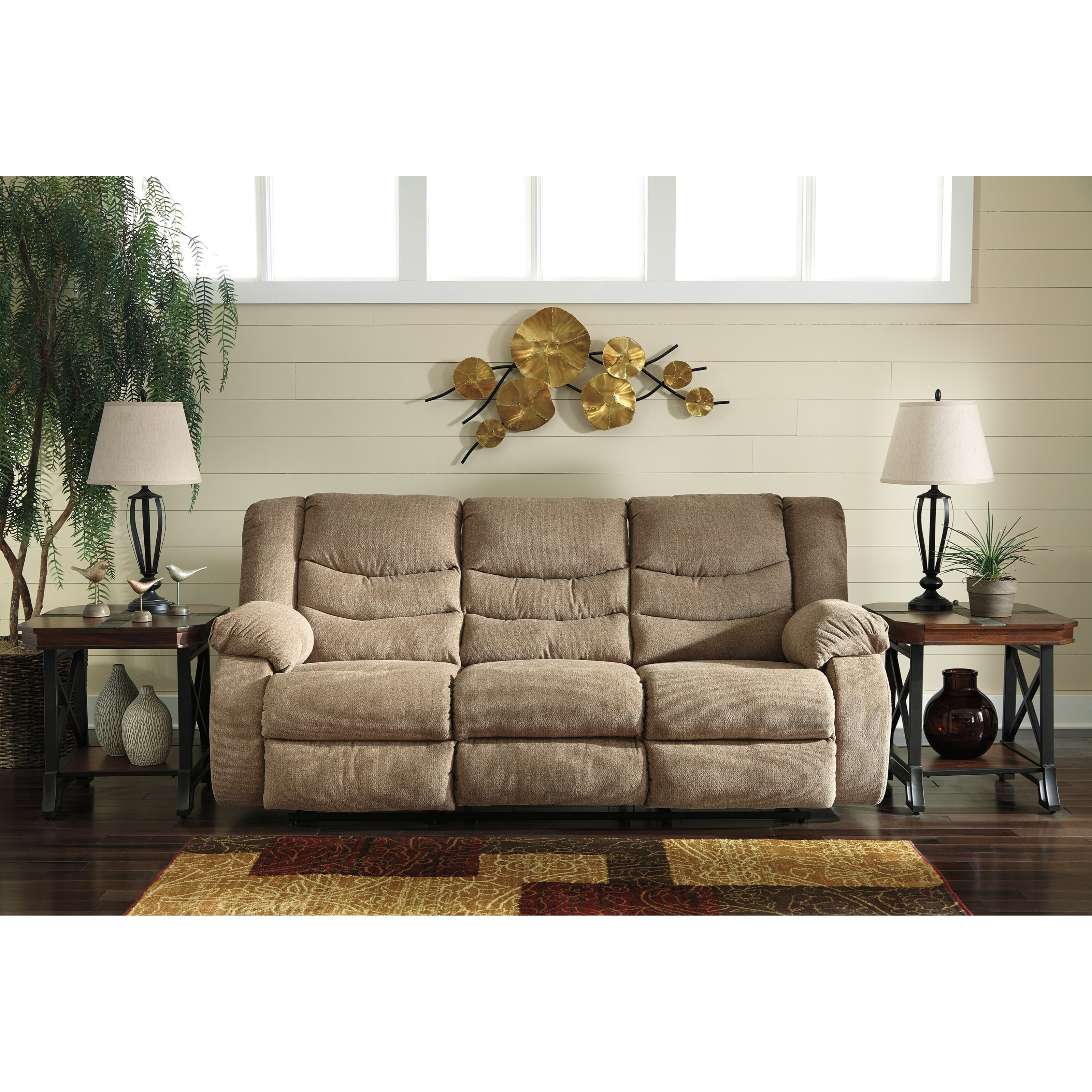 reclining living room furniture signature design by tulen contemporary reclining 12603