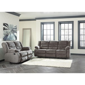 Signature Design by Ashley Tulen Contemporary Reclining