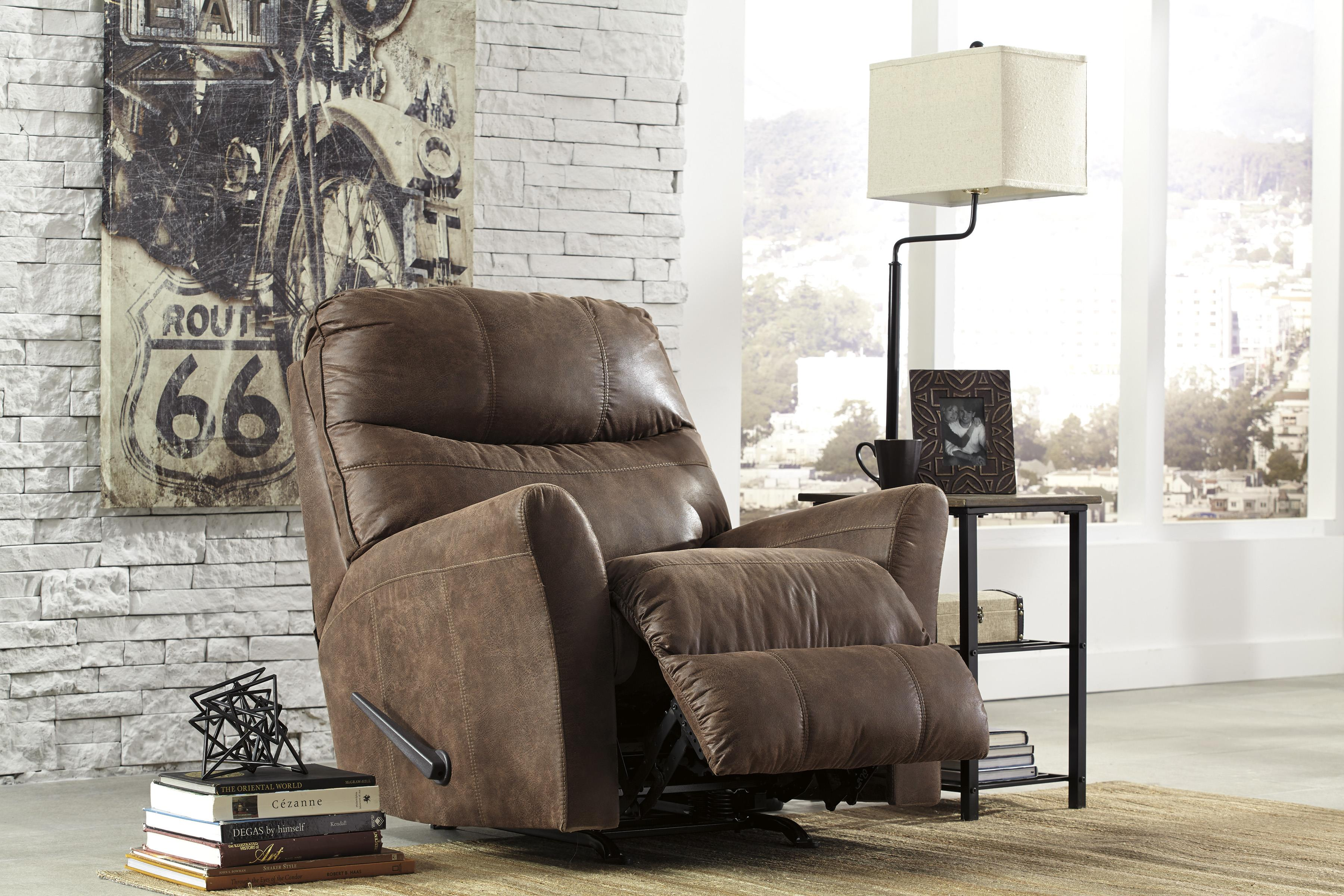 signature design by ashley tullos rocker recliner with