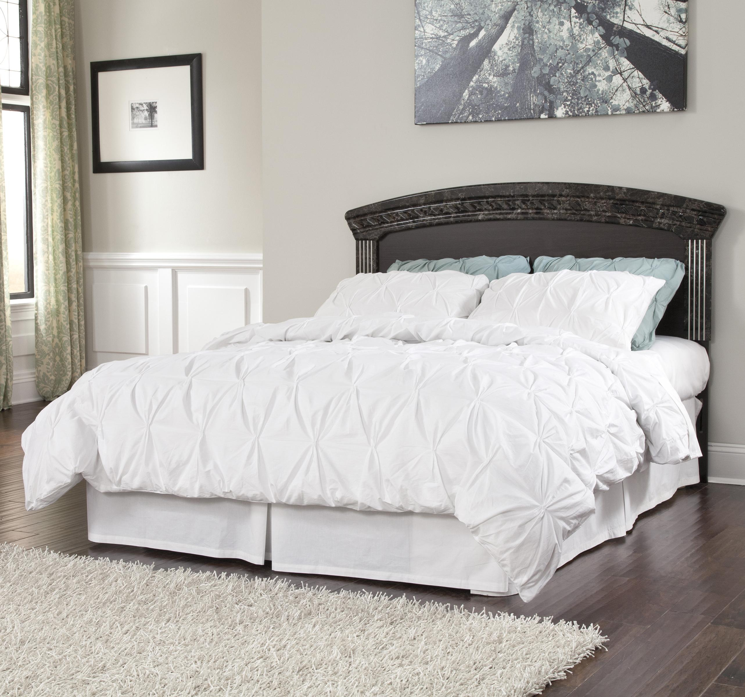 Signature design by ashley vachel traditional queen full for Royal headboard