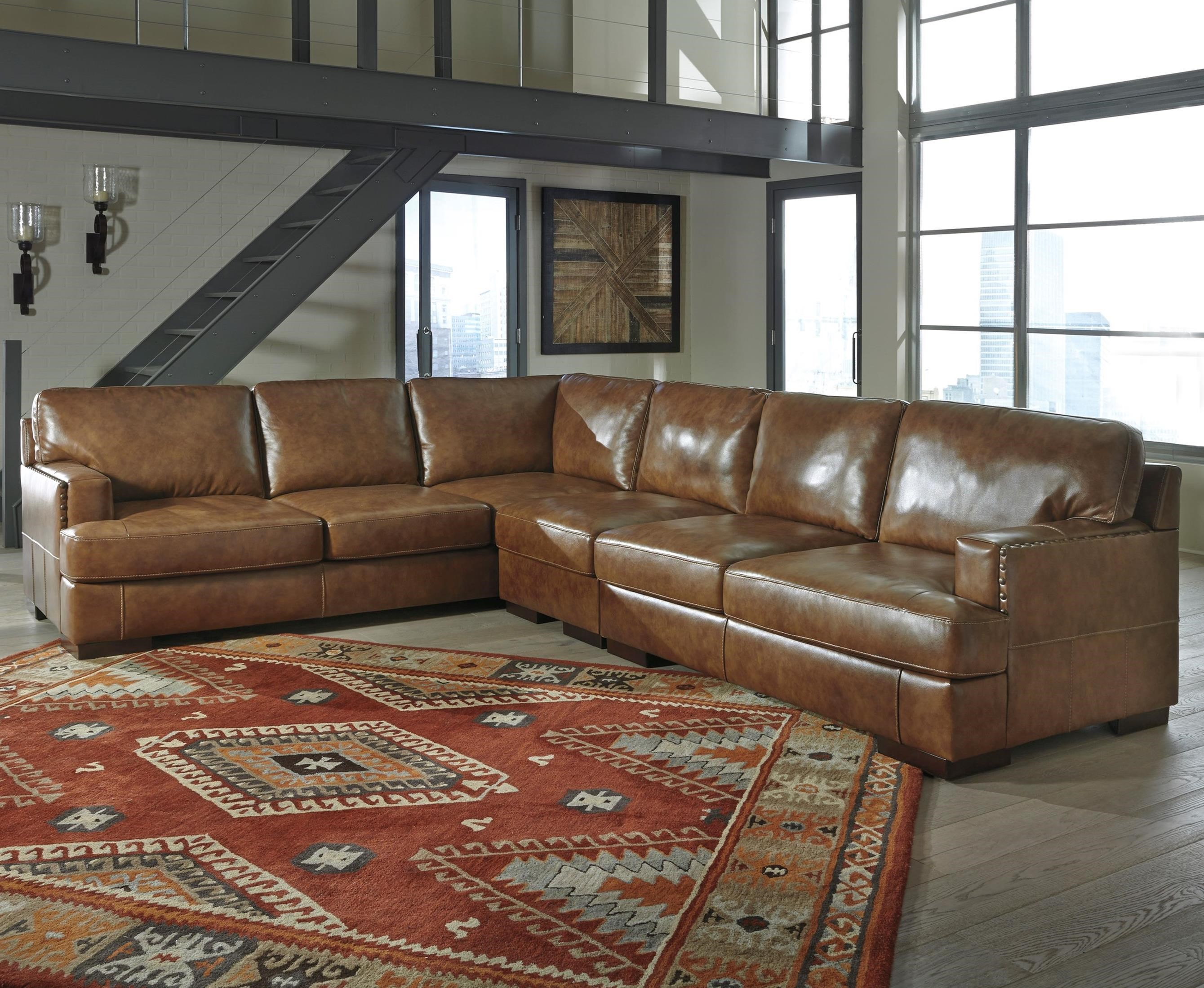 3 piece sectional urban 3piece sectional polyfill image for Affordable furniture 3 piece sectional in jesse cocoa