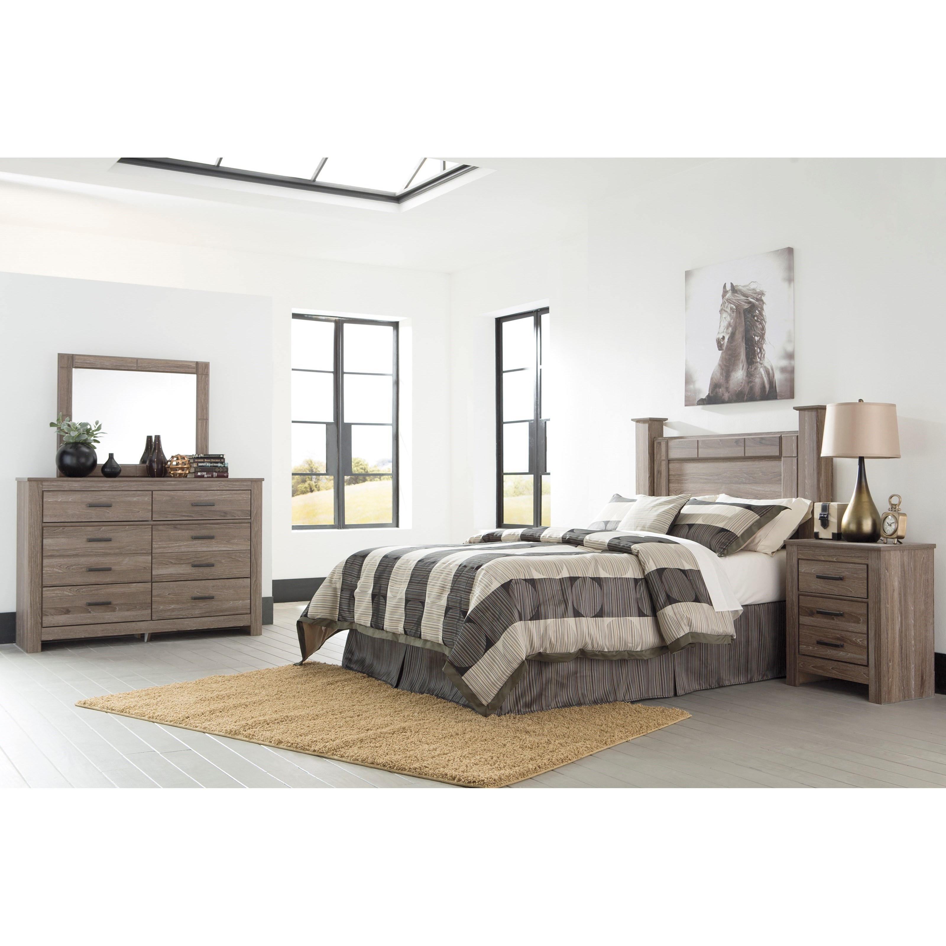 Signature Design by Ashley Waldrew Queen Bedroom Group
