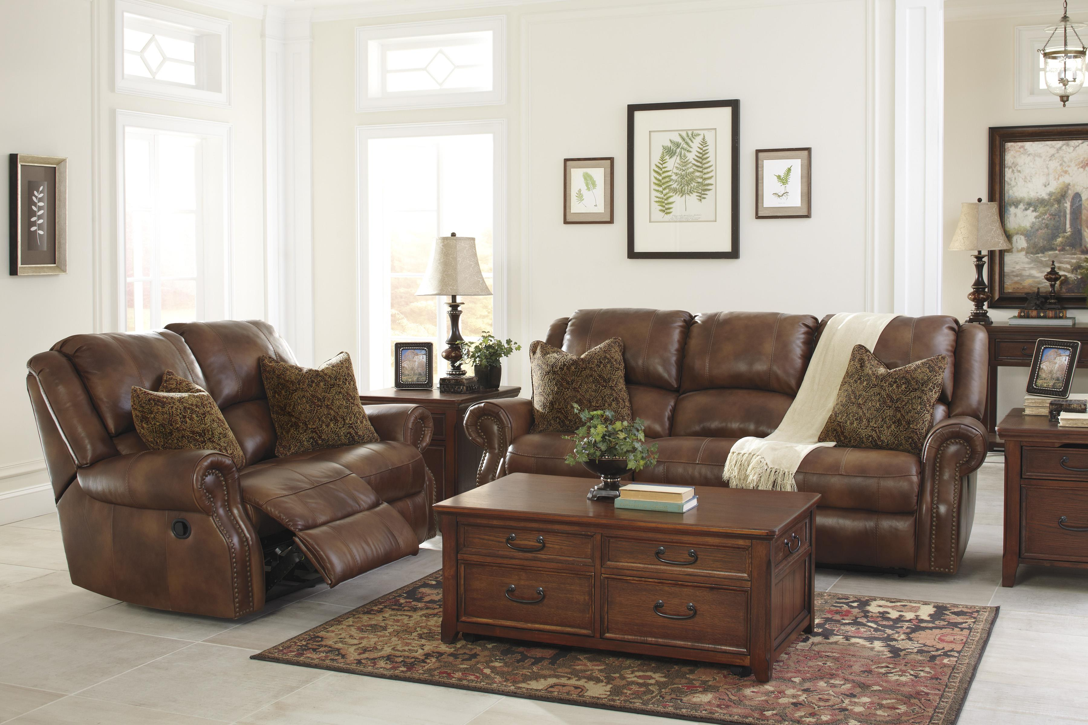Signature Design By Ashley Walworth Reclining Living Room Group Item