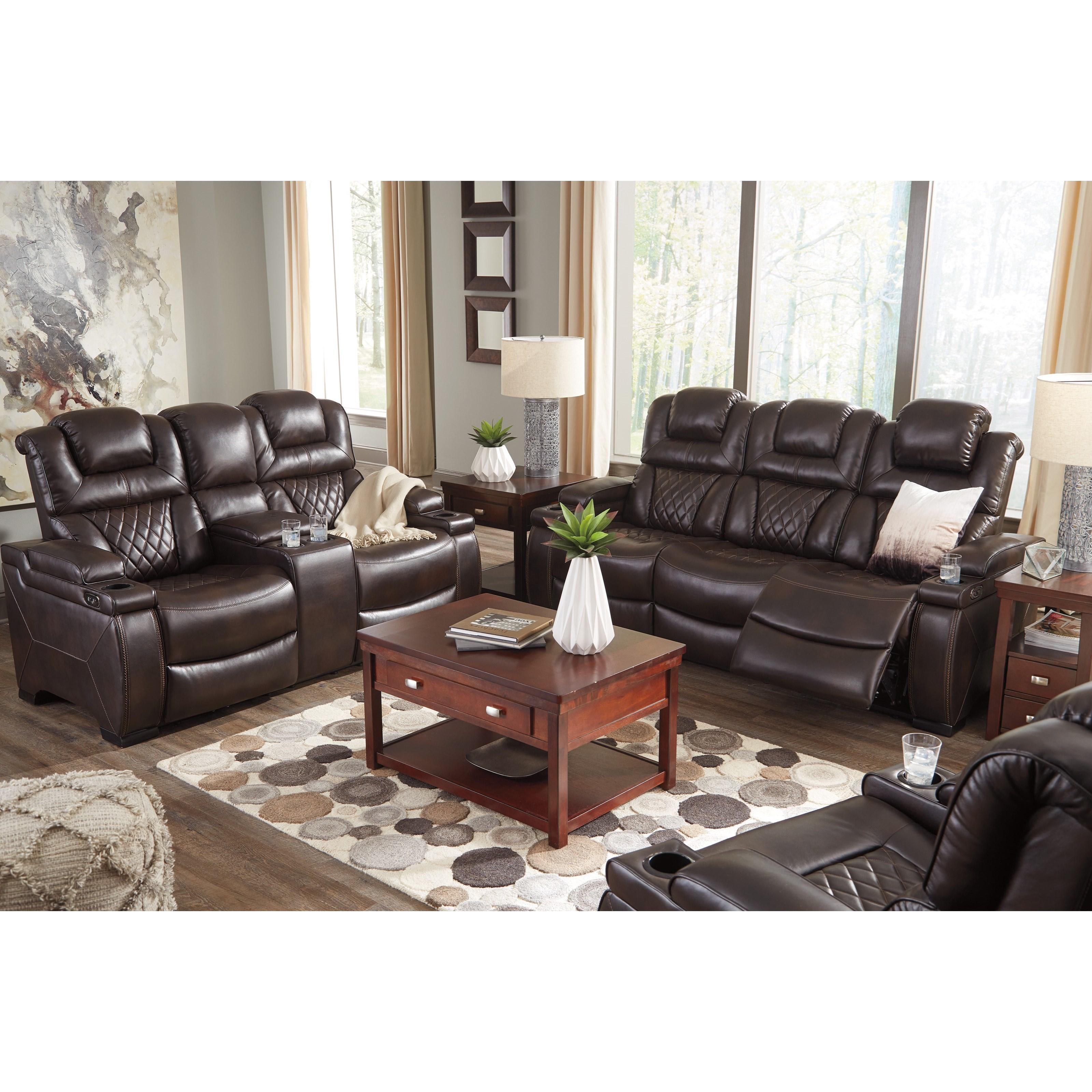 Signature design by ashley warnerton 7540718 power for Ashley furniture appleton