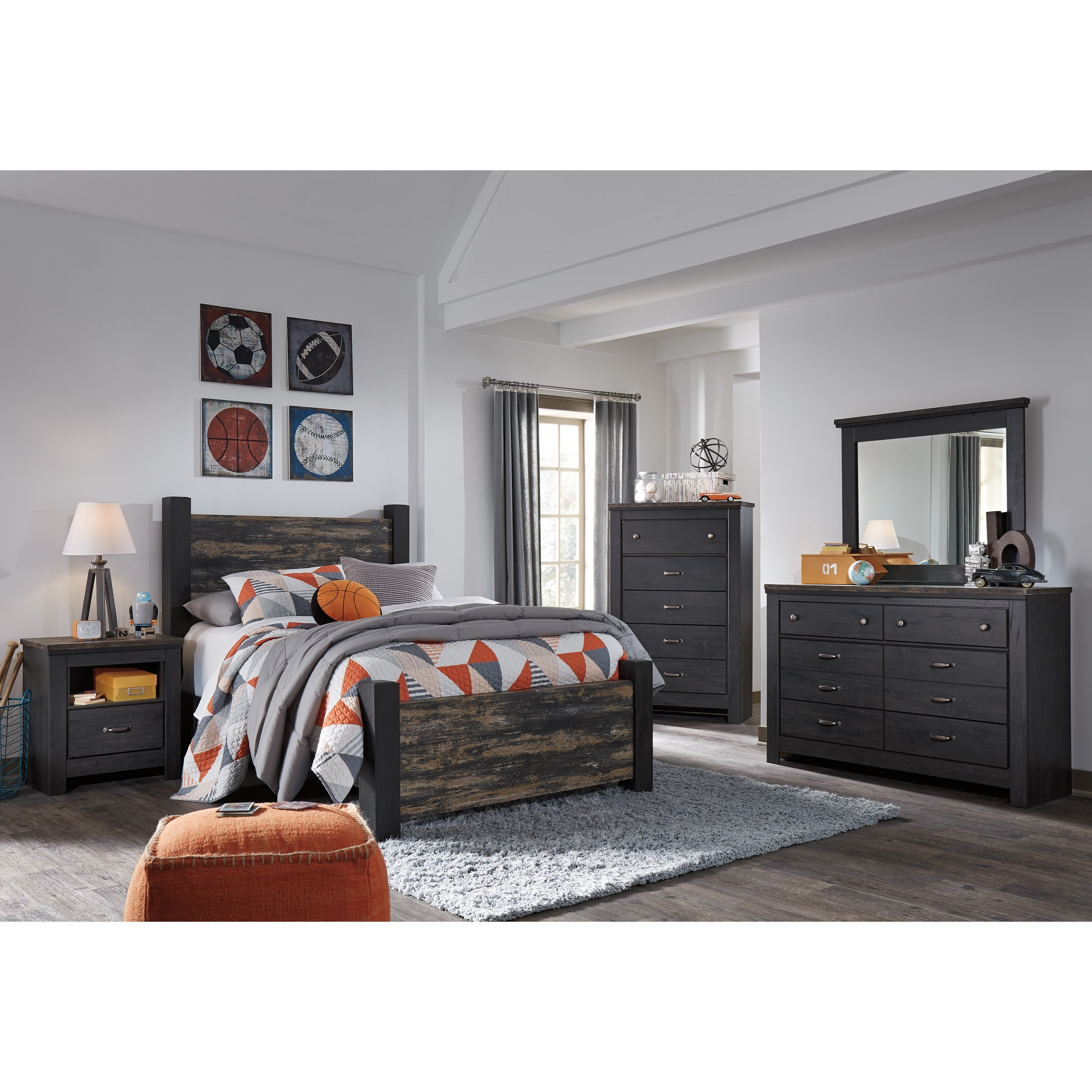 home bedroom groups signature design by ashley westinton full bedroom ...