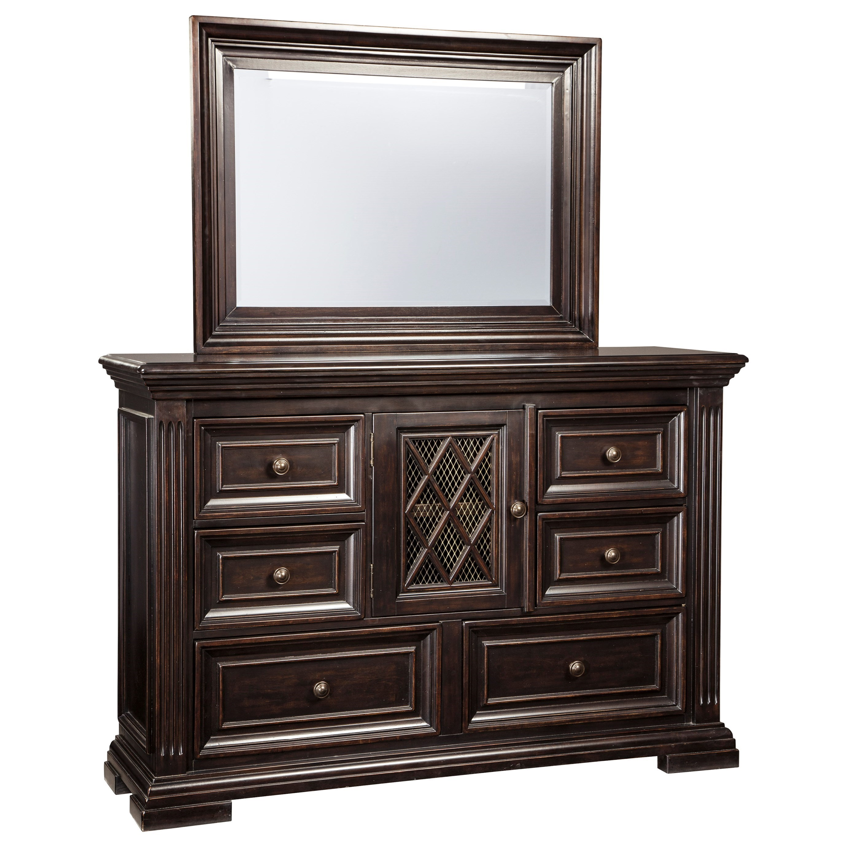 Signature Design by Ashley Willenburg Transitional Bedroom