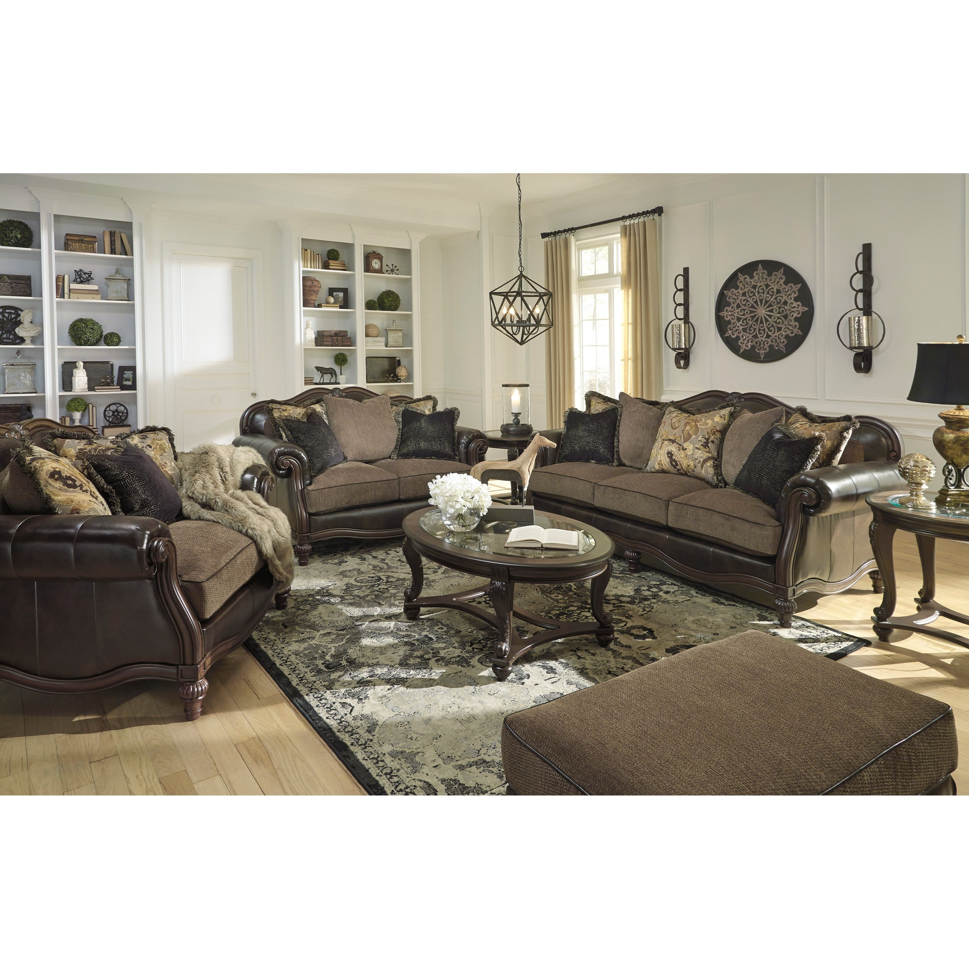 Signature Design By Ashley Winnsboro DuraBlend Stationary Living Room Group