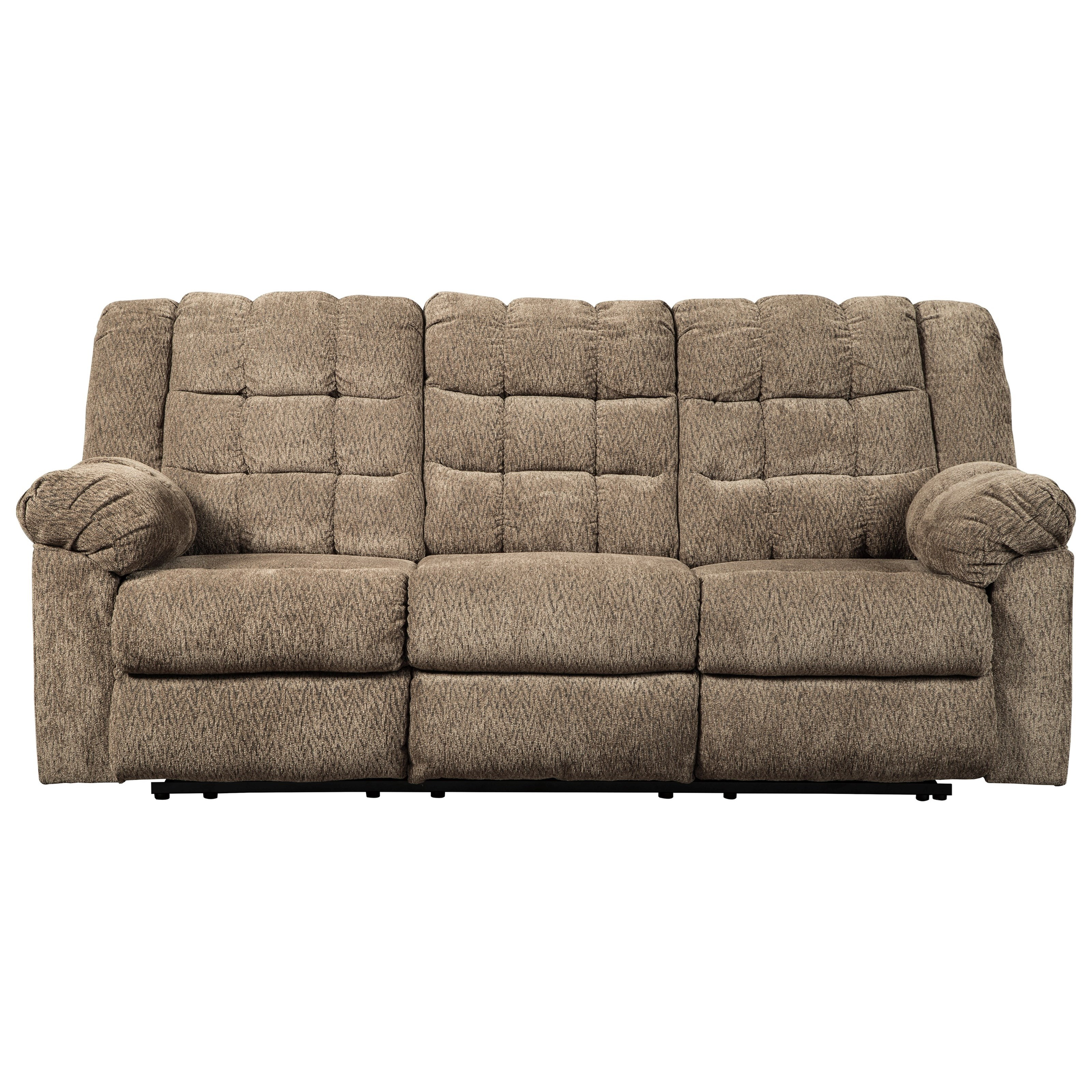 Signature design by ashley workhorse casual reclining sofa value city furniture reclining sofas - Sofa reclinable ...