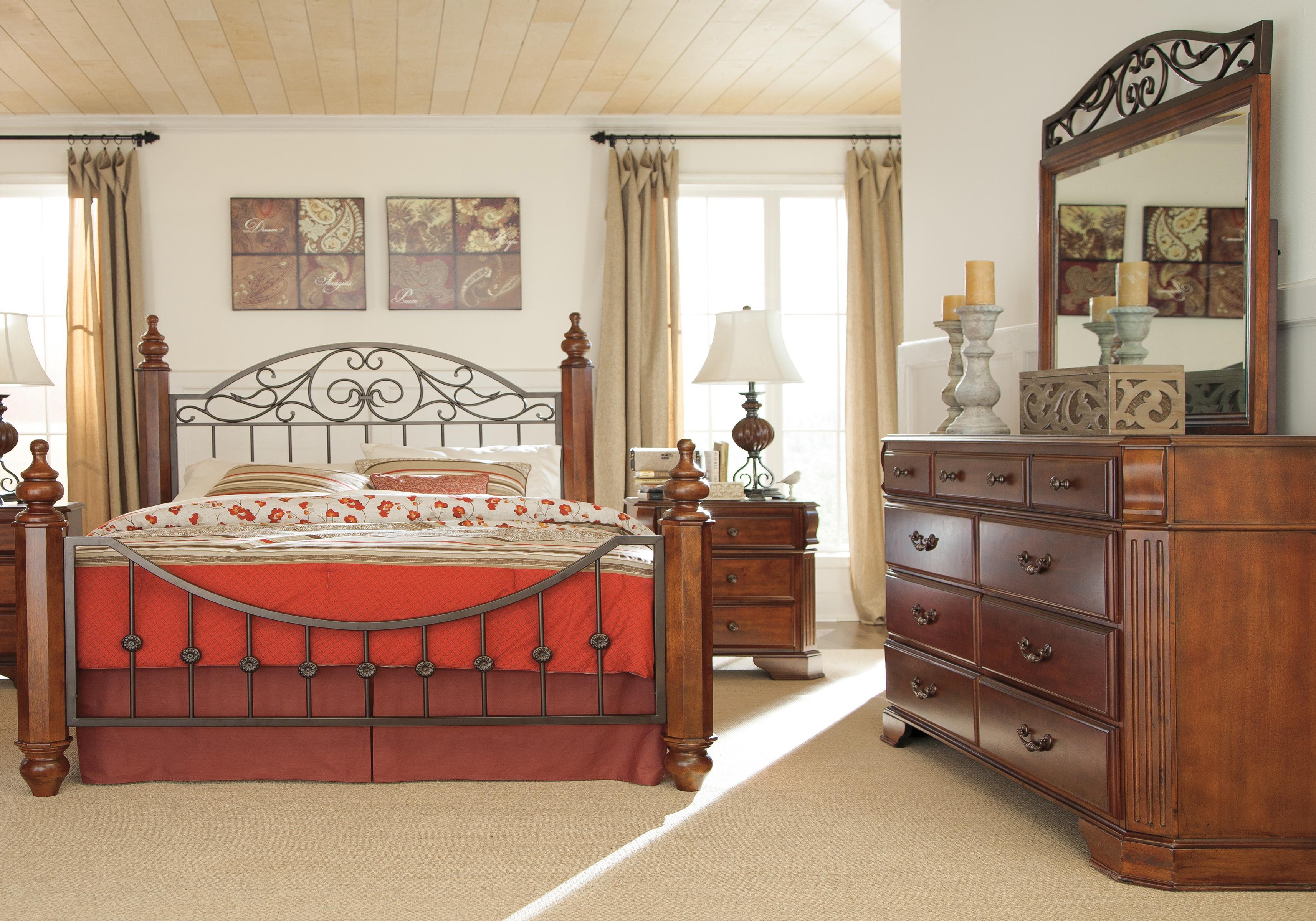 wyatt 4 piece queen bedroom group dunk bright furniture bedroom