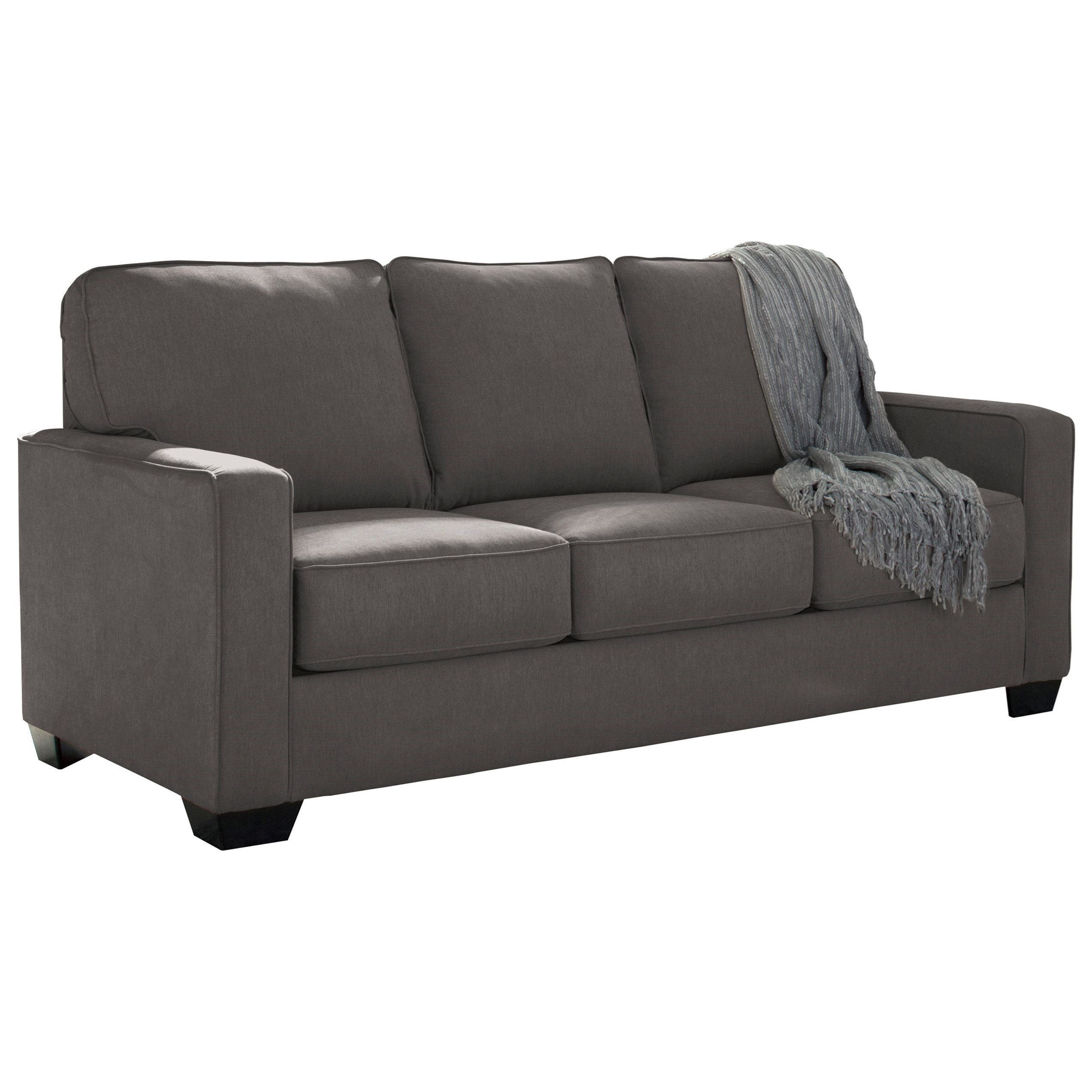 Signature design by ashley zeb full sofa sleeper with for Design sofa outlet