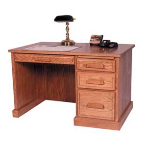 Simply Amish Classic Classic Flat Top Desk 2 Dunk