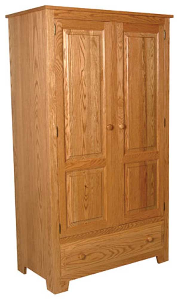 Simply amish homestead amish homestead wardrobe becker for Simply amish furniture