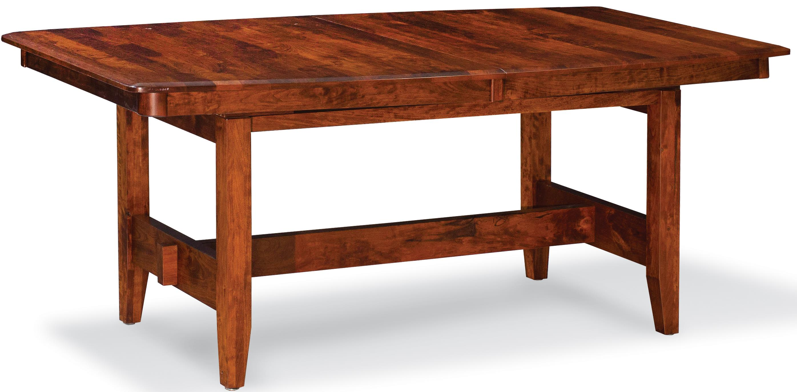 Simply amish shenandoah xk26 etshs h07f16e trestle table for Simply amish furniture