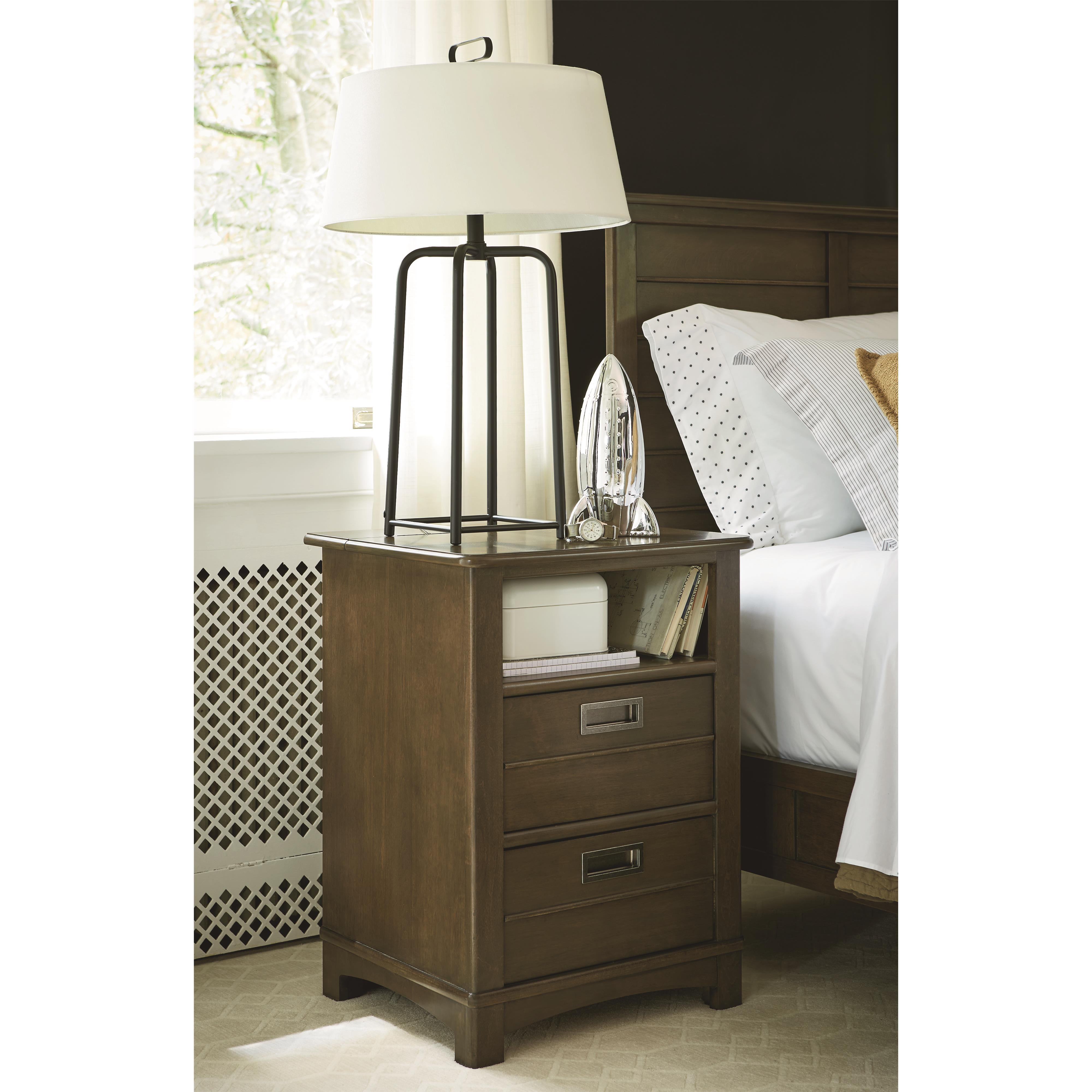 Smartstuff Varsity Nightstand With Charging Station