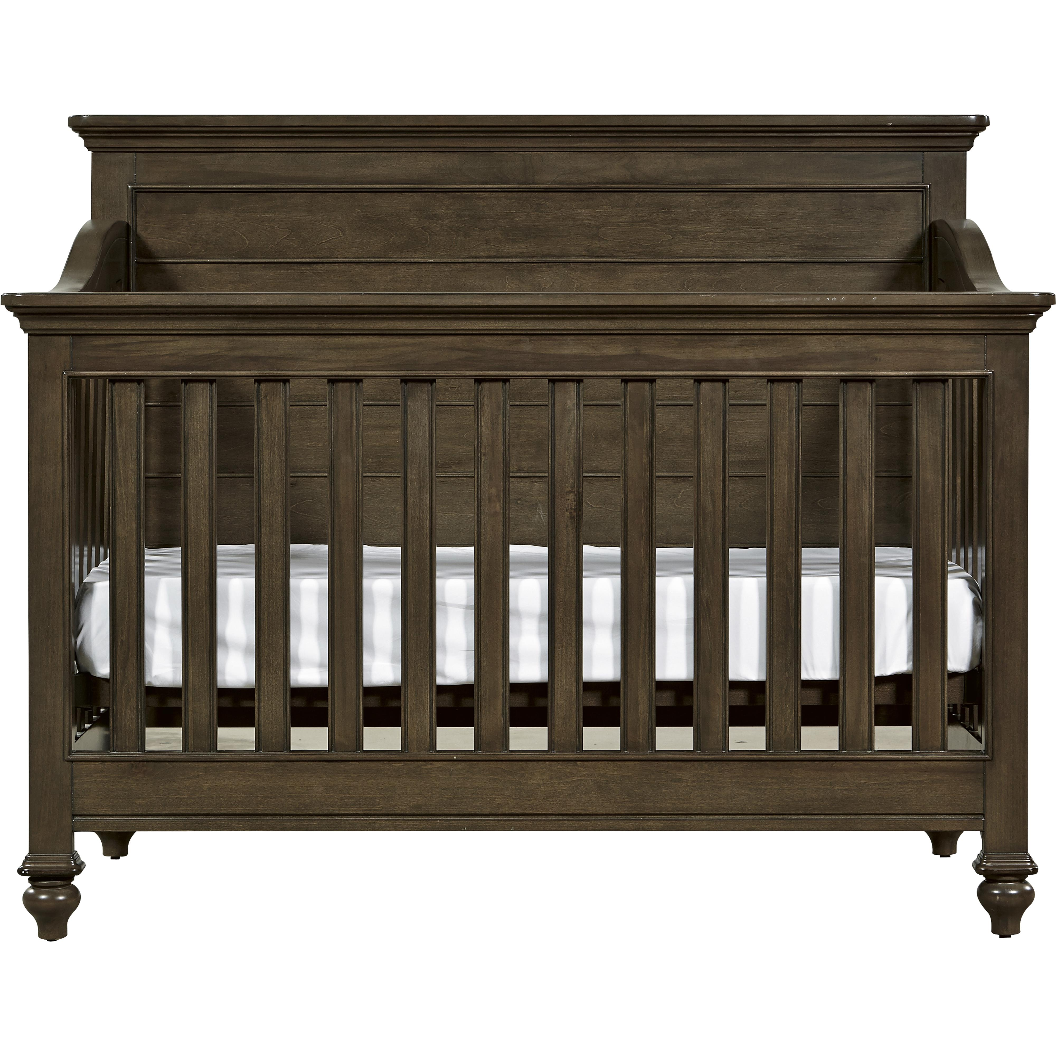 Smartstuff varsity convertible crib with toddler rail for Wayside furniture