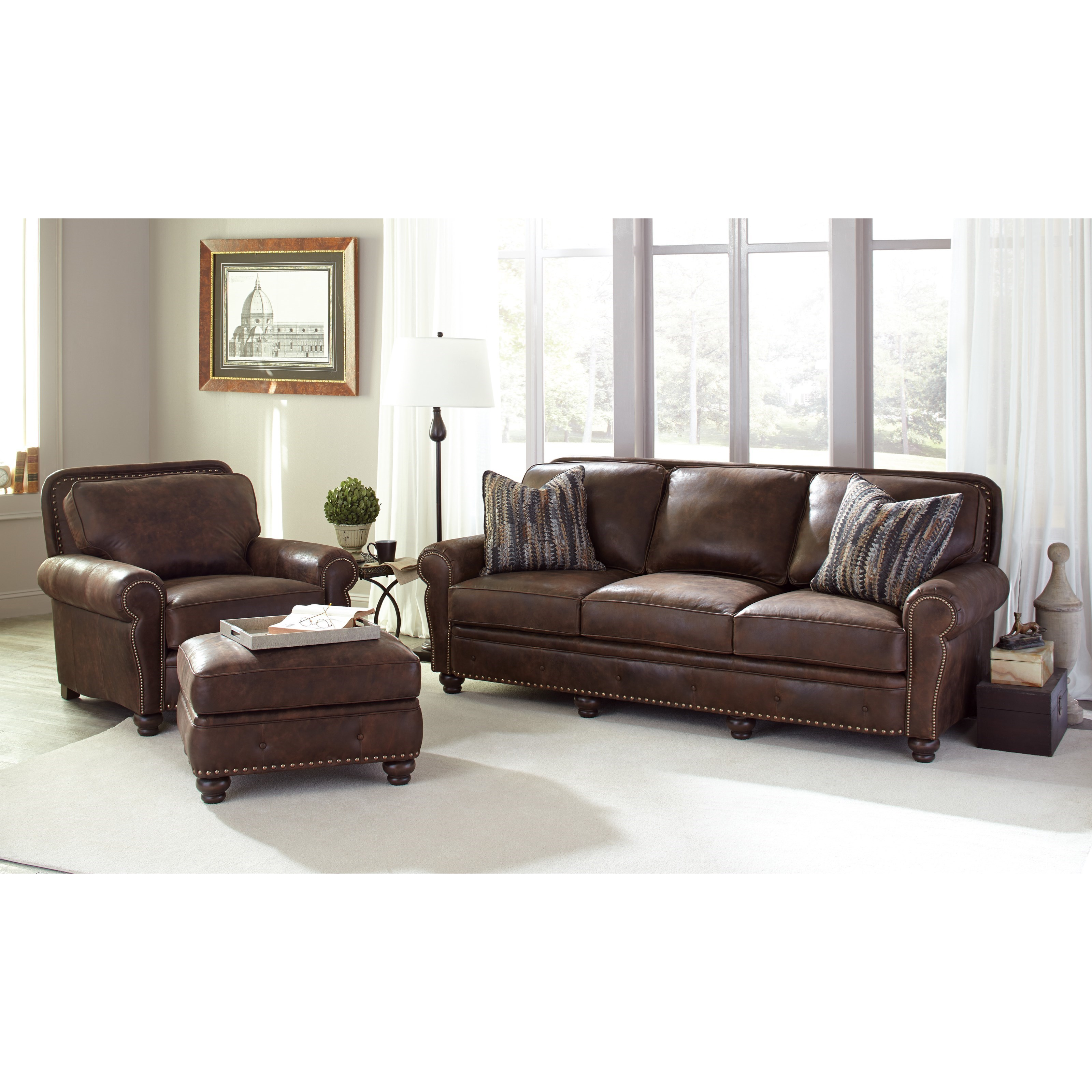 Smith brothers 237 stationary living room group dunk for Living room furniture groups