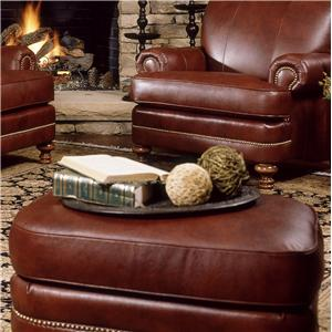 Leather Ottomans