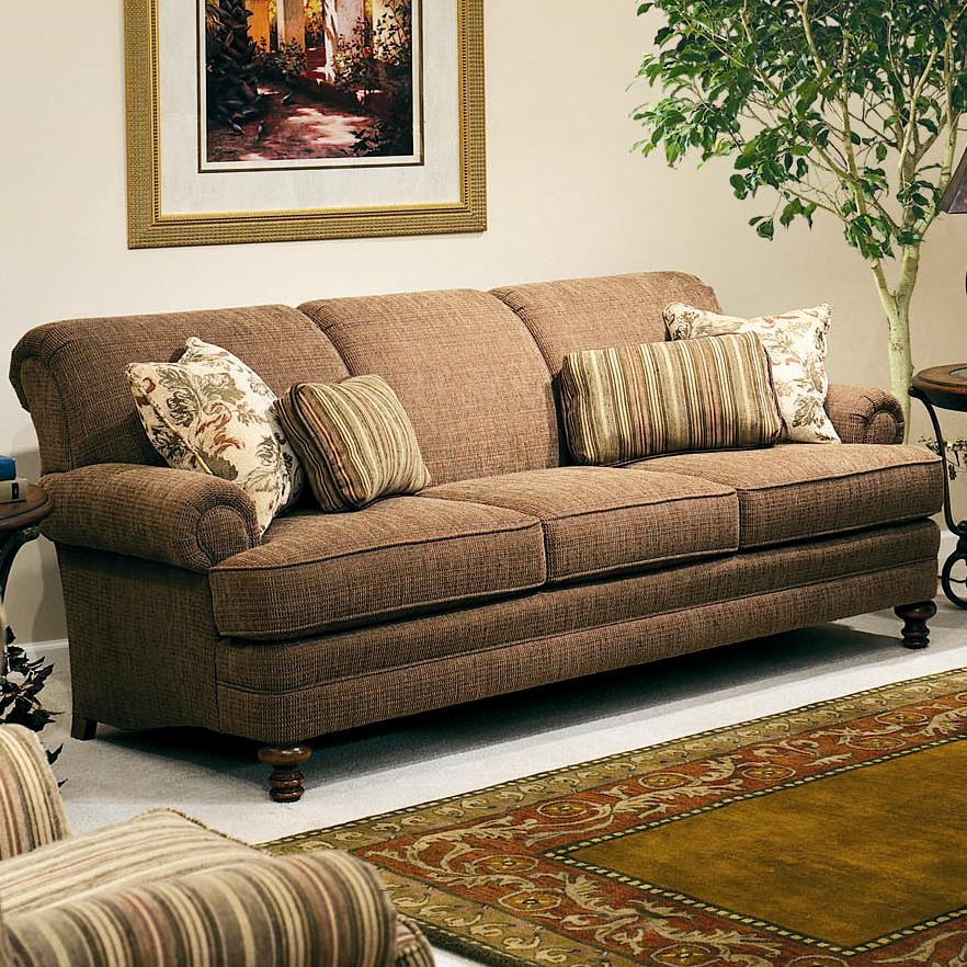 smith brothers 346 346 10 upholstered stationary sofa dunk bright furniture sofas. Black Bedroom Furniture Sets. Home Design Ideas