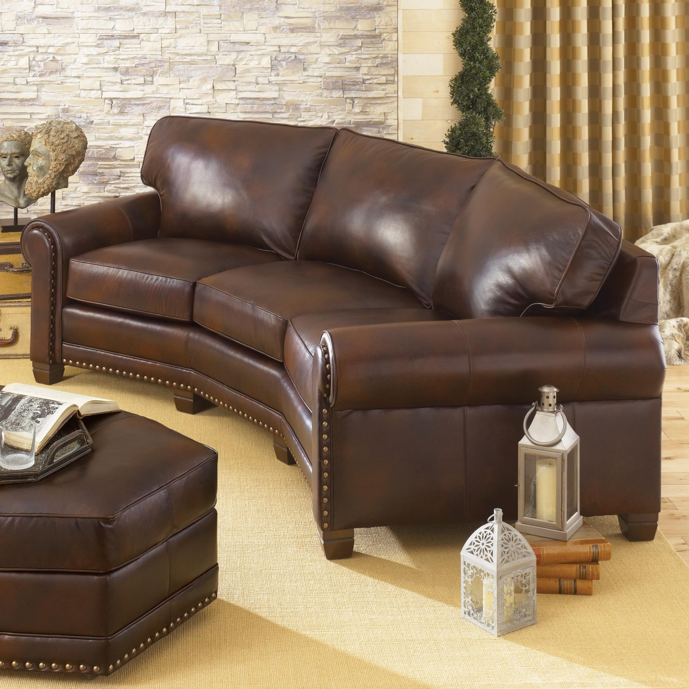 Smith brothers 393 393l 12 traditional conversation sofa for Conversation sofa