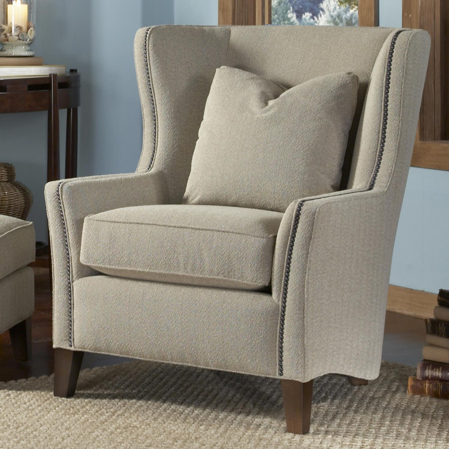 Smith Brothers Accent Chairs and Ottomans SB 82530