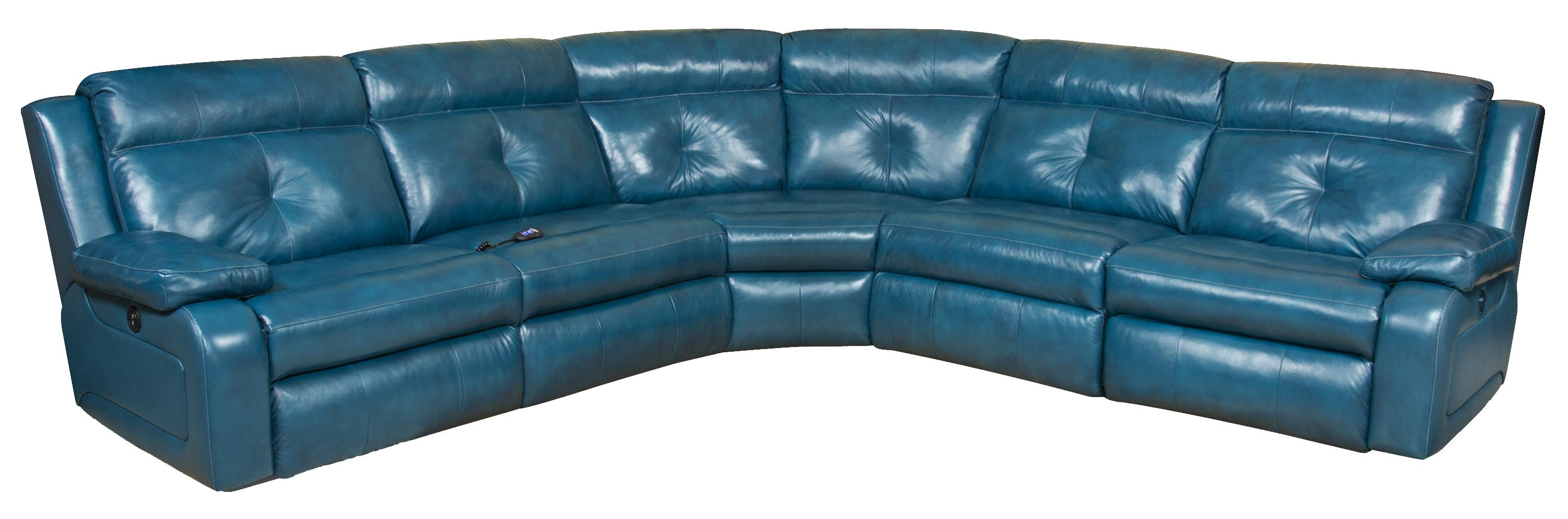 Southern Motion Dash Reclining Sectional Sofa Wayside