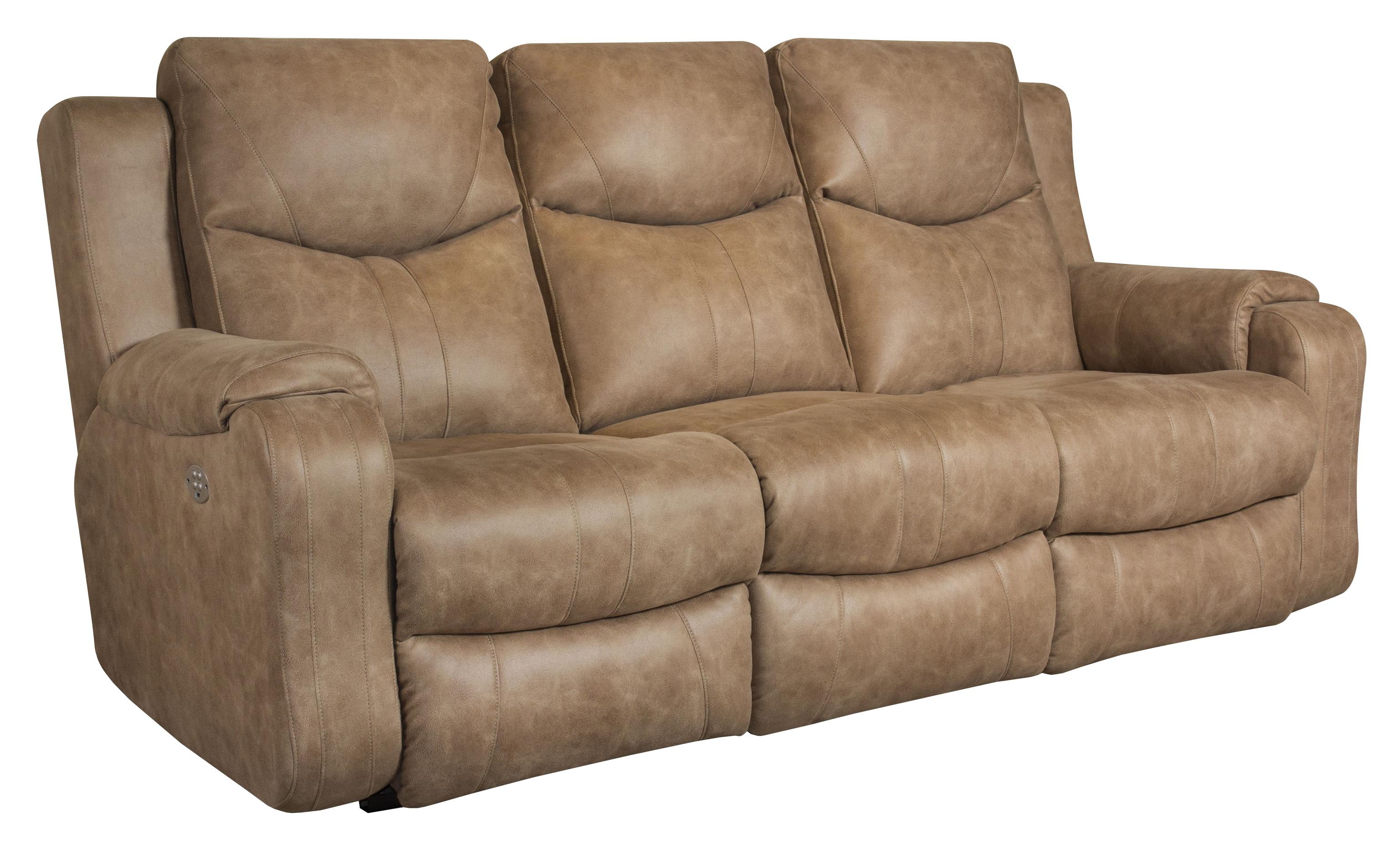 Southern Motion Marvel Double Reclining Sofa with Power
