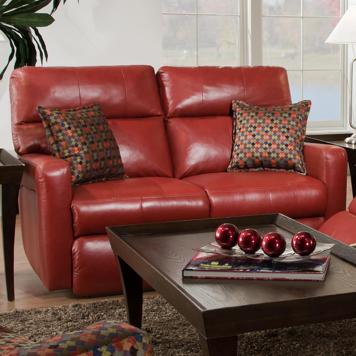 Southern Motion Savannah Double Reclining Loveseat for