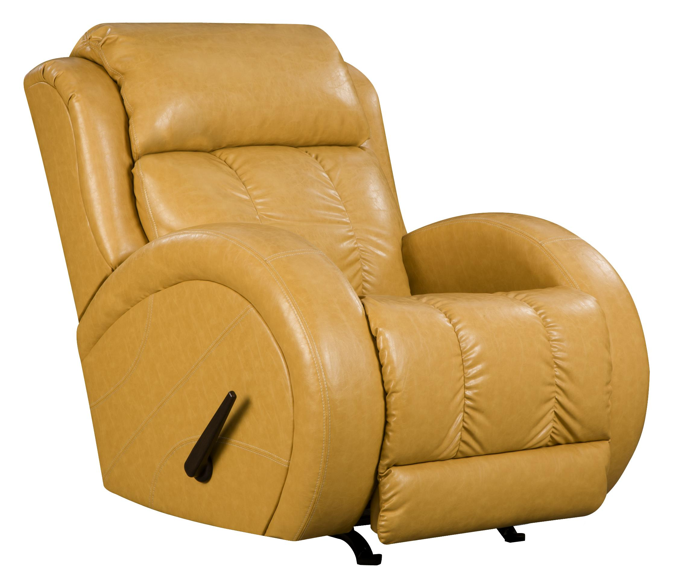Recliners Swivel Rocker Recliner With Sport Style By