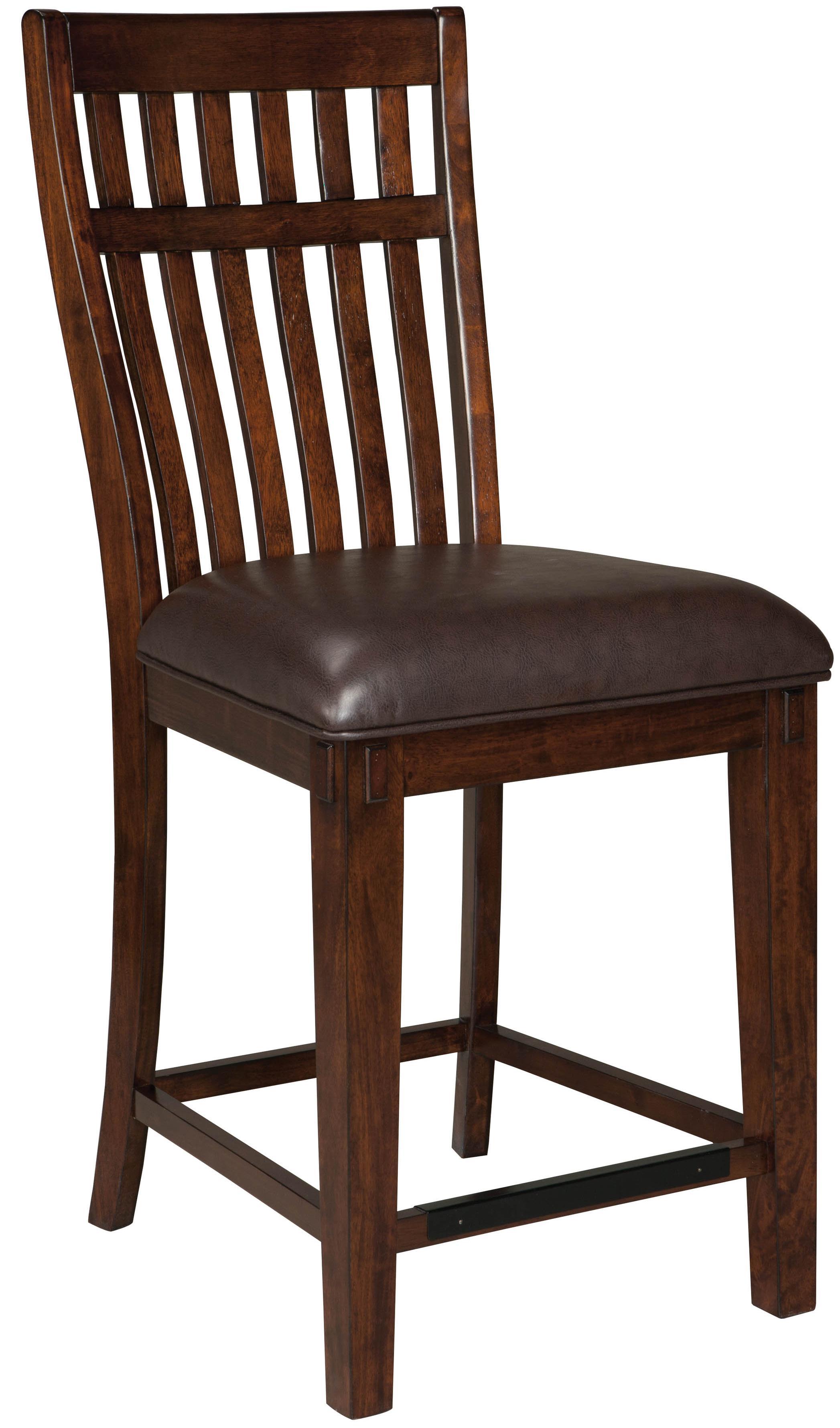 standard furniture artisan loft upholstered counter stool with 24 seat height olinde 39 s. Black Bedroom Furniture Sets. Home Design Ideas